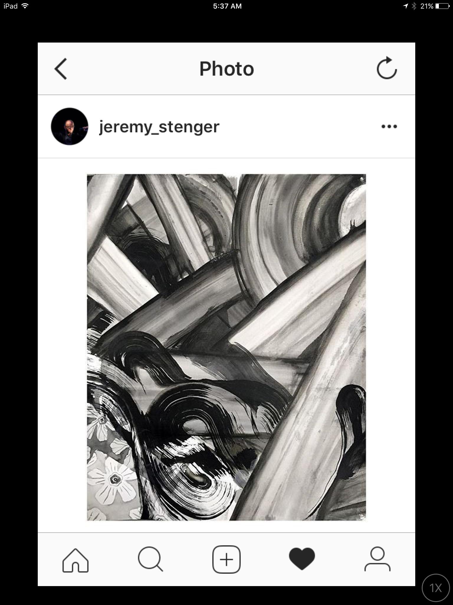 Jeremy Stenger, Paper Studies, Insta