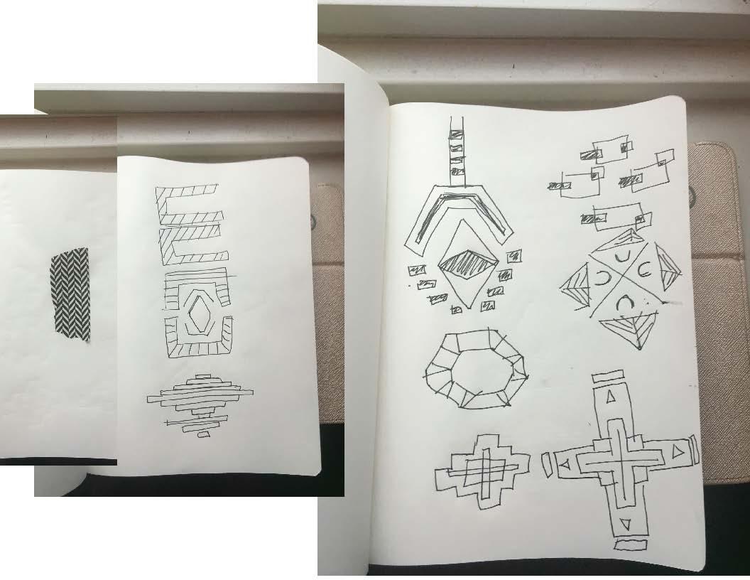 Sketch, Pattern Development, June 2016