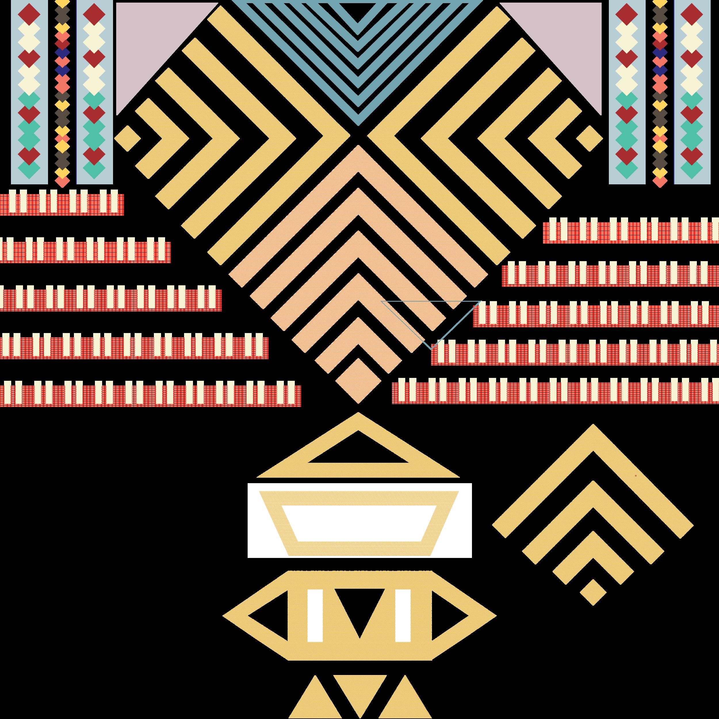 Composition, Vectors. Hero Pattern. June 2016