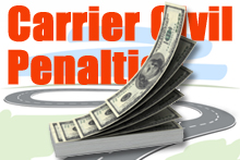 Owner Operator Direct - Commercial Truck & Semi Insurance Quotes - Carrier Civil Penalties