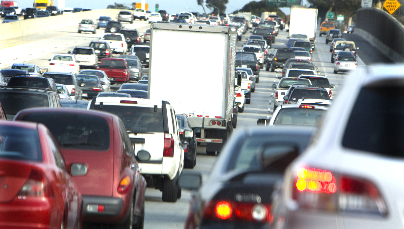 The ATRI ranked truck traffic congestion locations