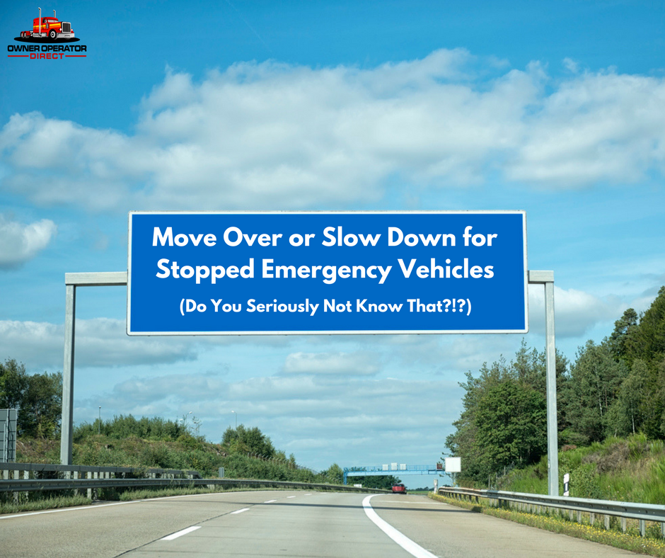 30% of people are not aware that they should move over or slow down for emergency vehicles on the shoulder.