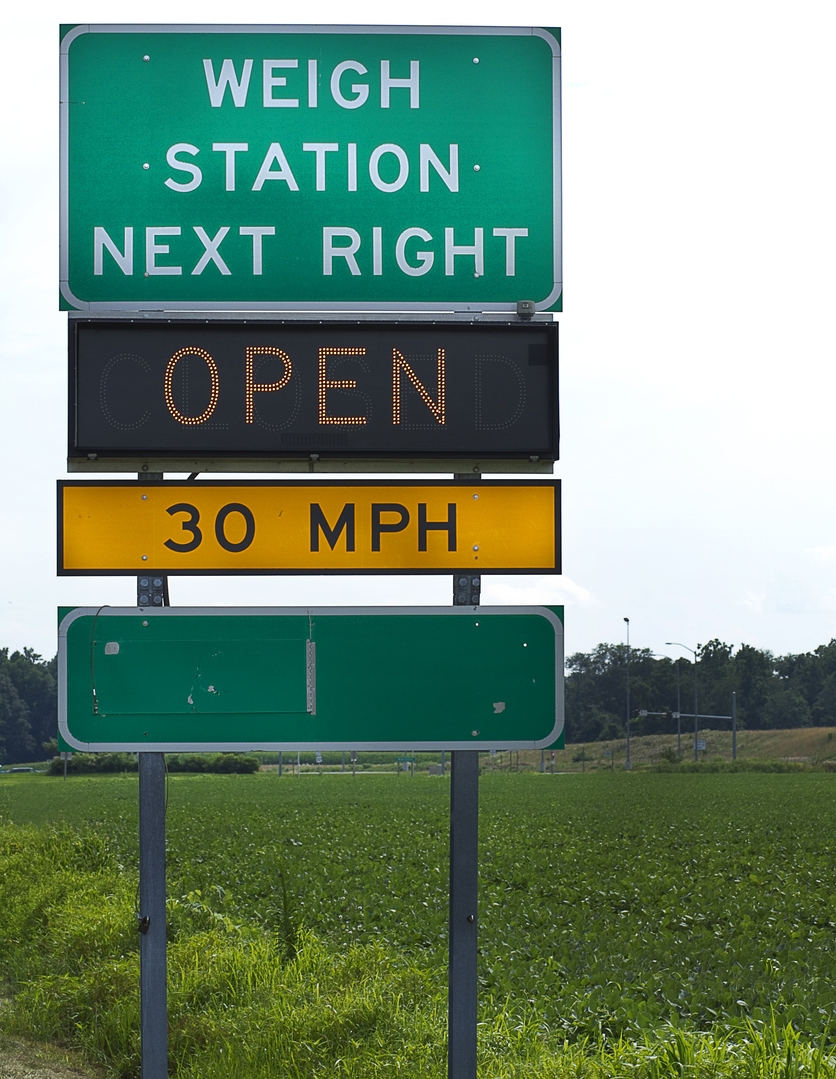 Many truckers oppose the proposed 91,000 weight limit.