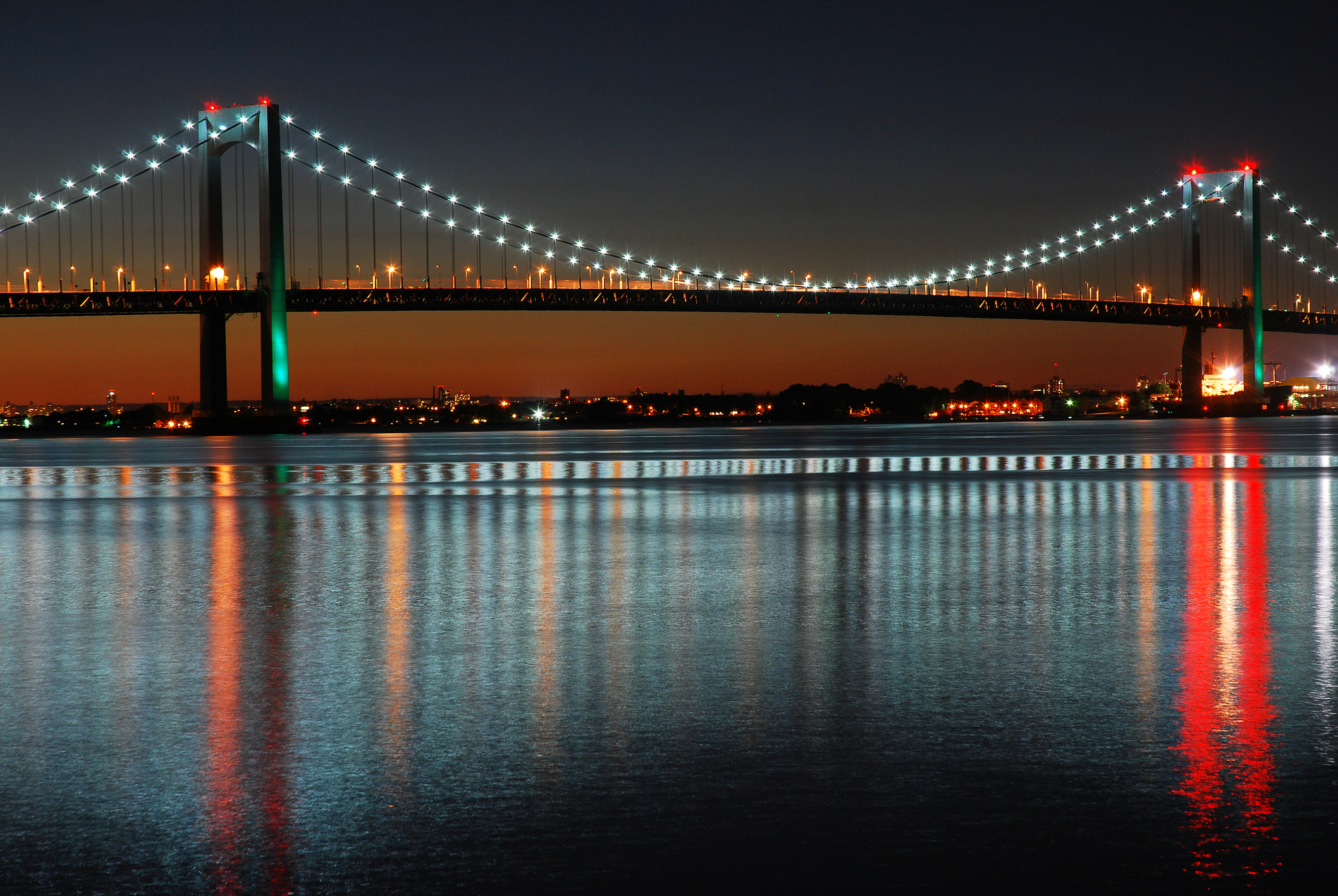 The Throgs Neck Bridge in NYC will have half priced tolls at night for truckers