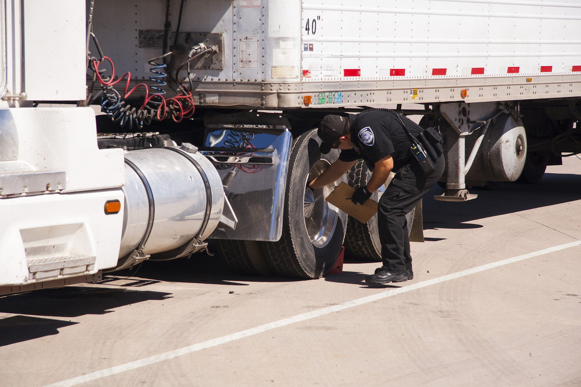 DOT inspectors throughout the US, Canada and Mexico will be inspecting nearly 17 trucks or buses, on average, every minute during this year's International Roadcheck.