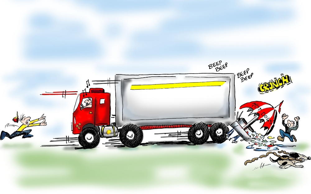 What are the types of trucker accidents?