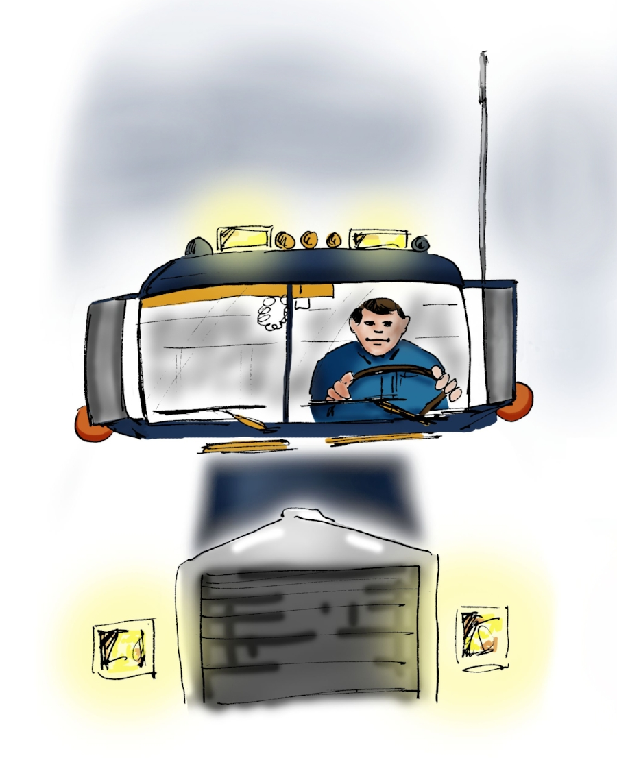 Ask the right questions.... be a happy trucker!