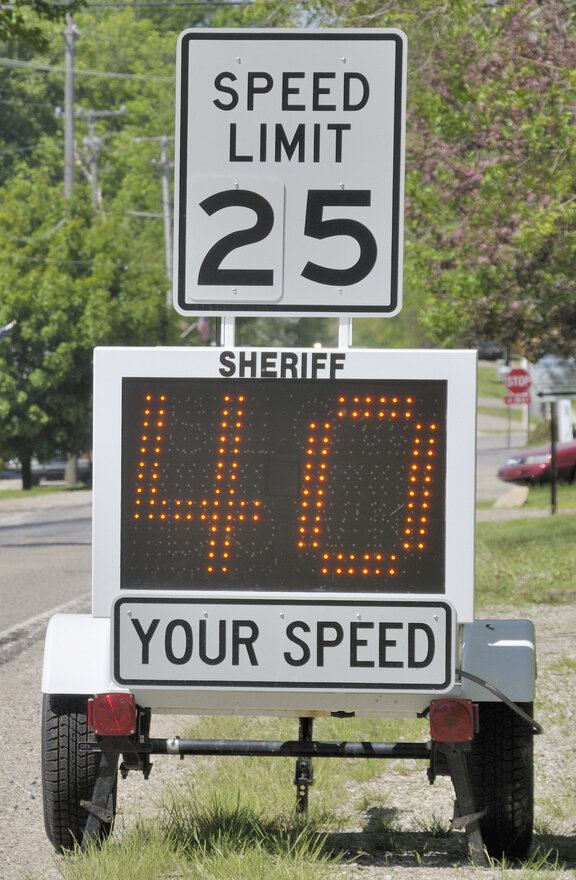 Speeding was the most cited violation during this year's Operation Safe Driver Week.