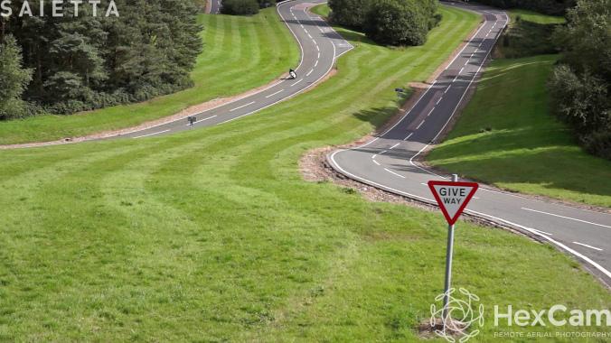 The Agility Saietta R on the Millbrook hill course