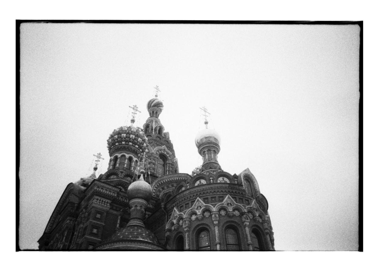 Spasna Krovi Church in Saint Petersburg.