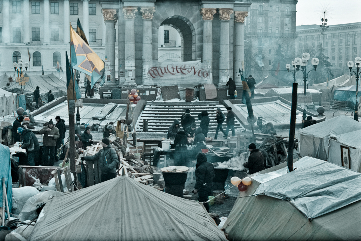 © Sam Asaert - Tent Camps on Independence Square