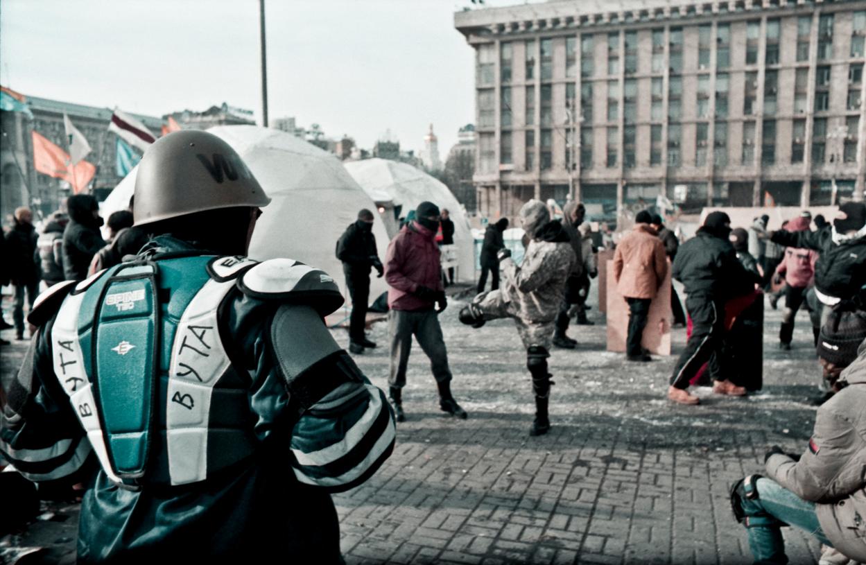 © Sam Asaert - Combat Training on Maidan