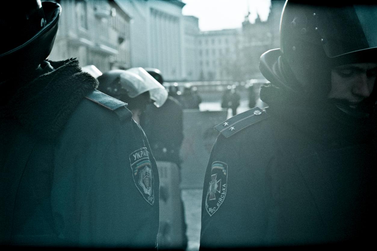 © Sam Asaert - Ukrainian Riot Police