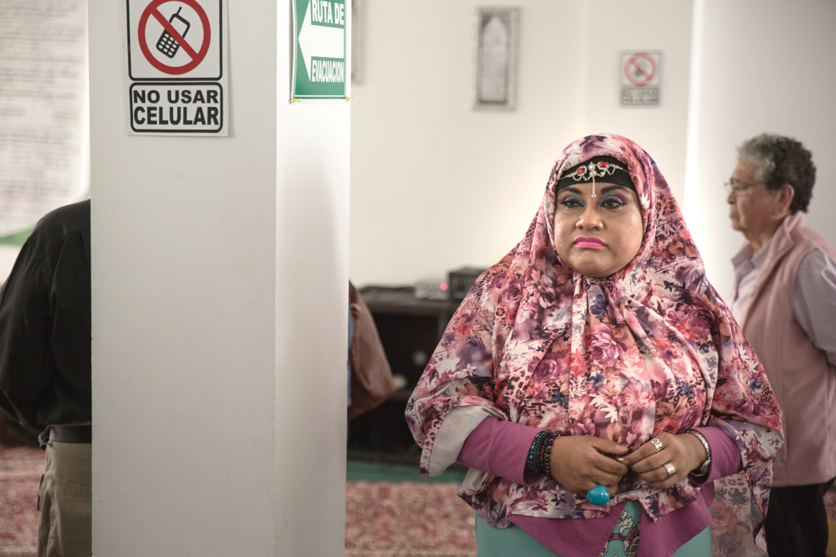 A Mexican Muslim after the Jumu'ah.