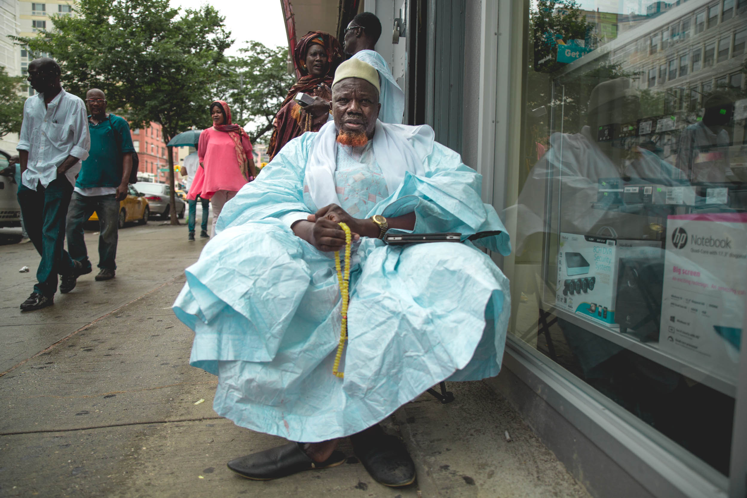 West African Muslim in East Harlem.