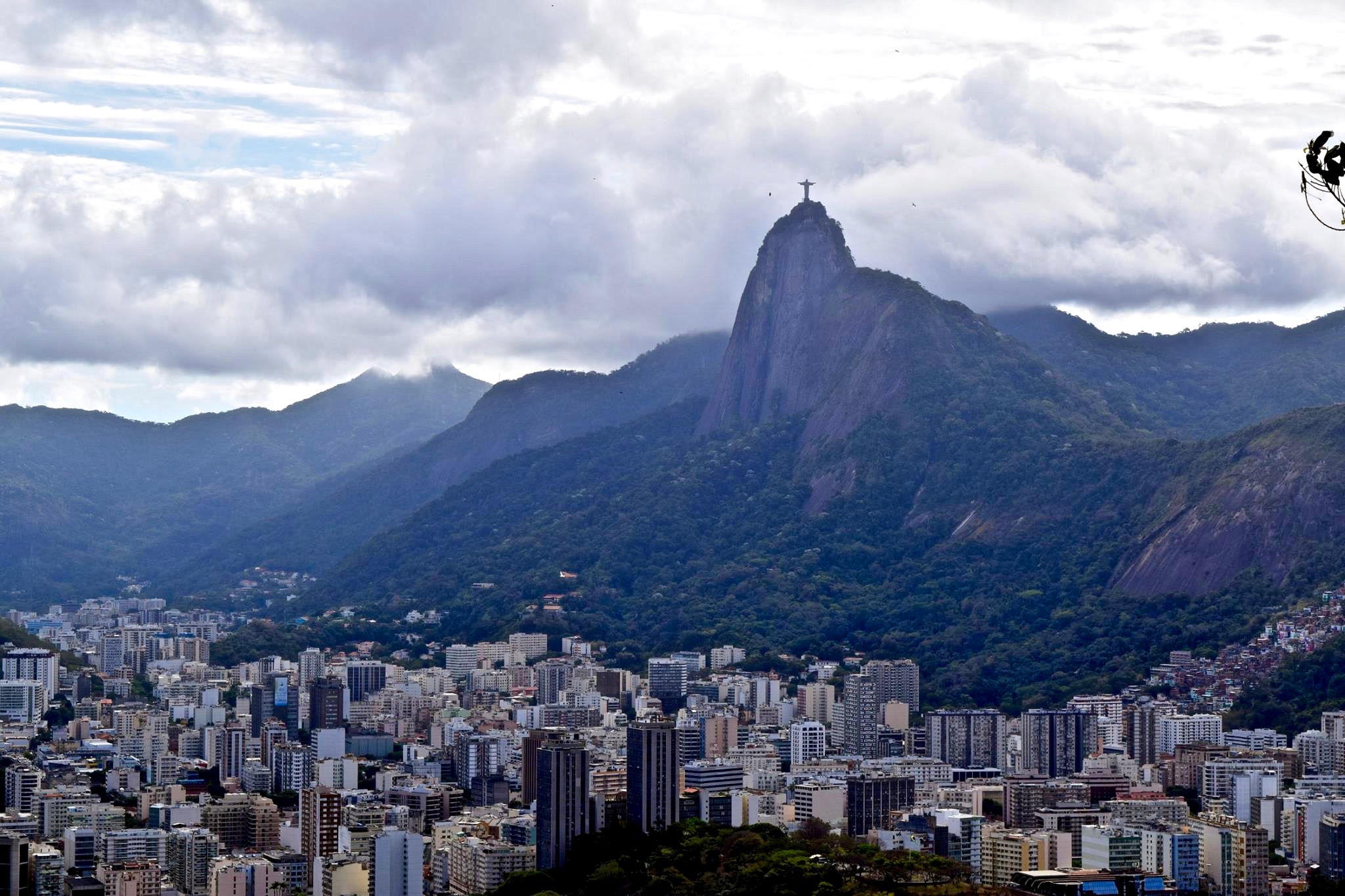 View of the Corcovado Mountain from the Sugarloaf
