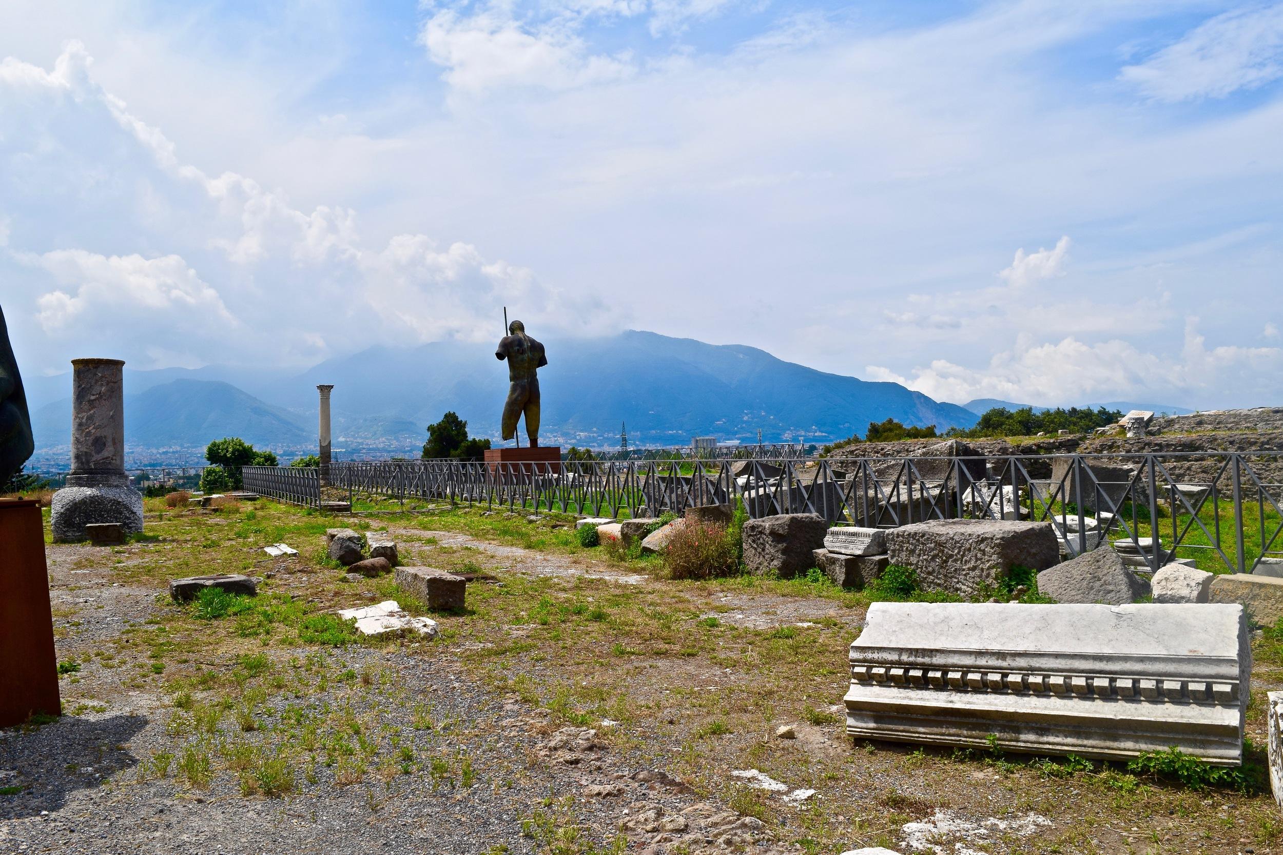 Ruins of Pompeii & Mount Vesuvius