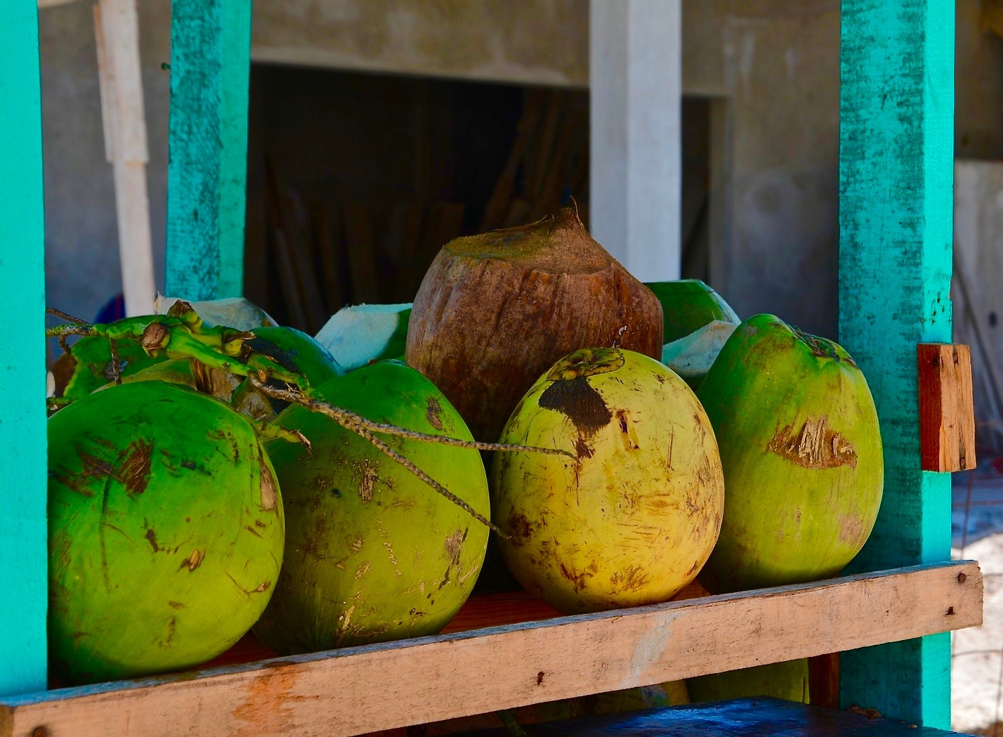 Coconut water stall