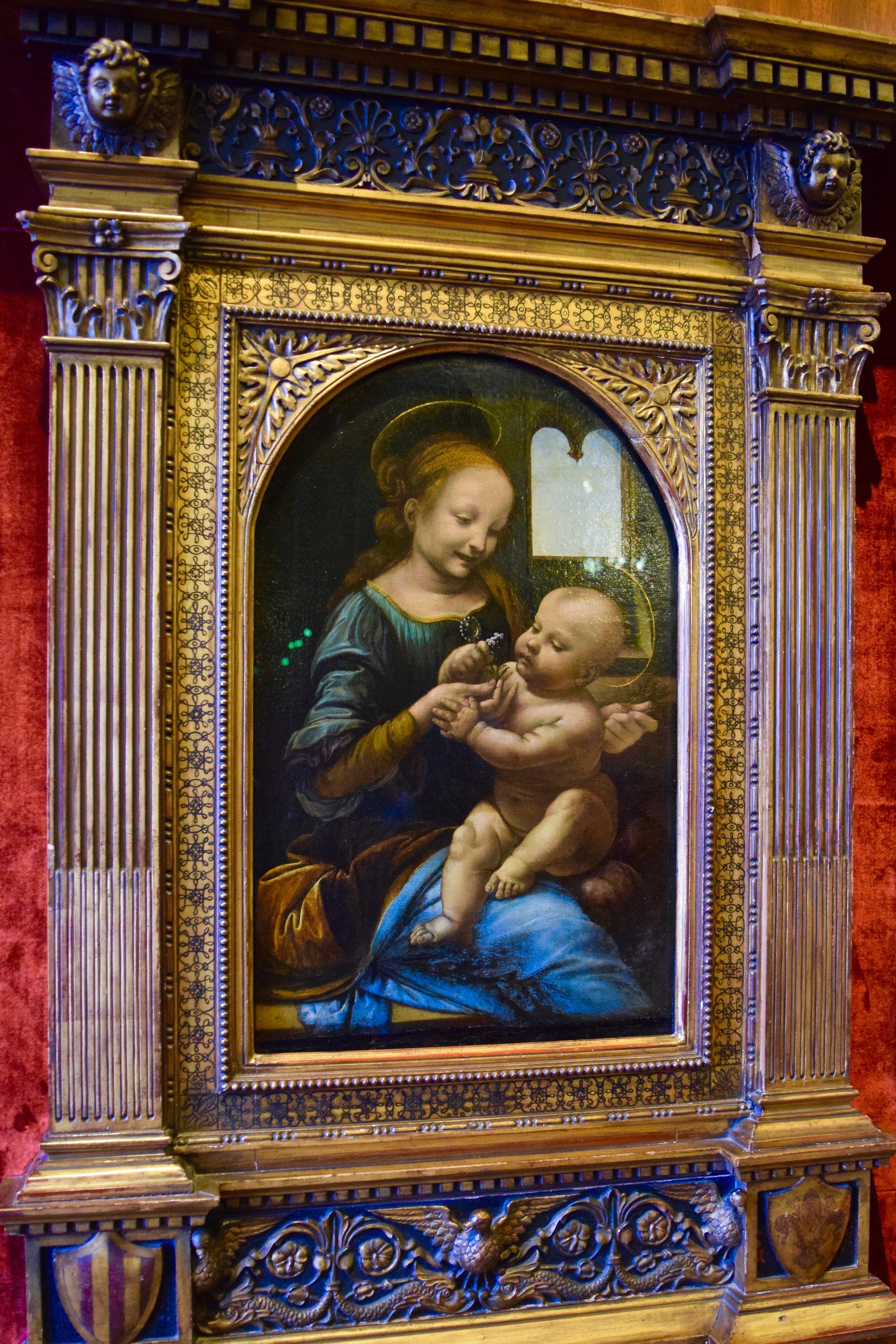 Benois Madonna by Leonardo da Vinci