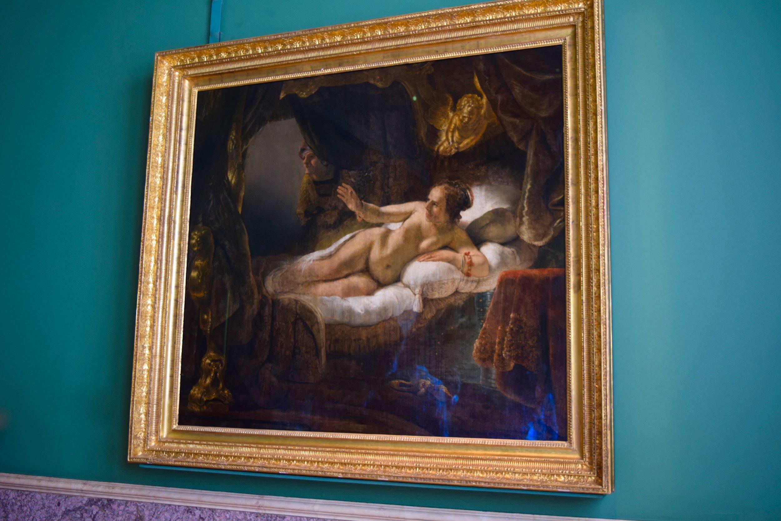 Danaë by Rembrandt