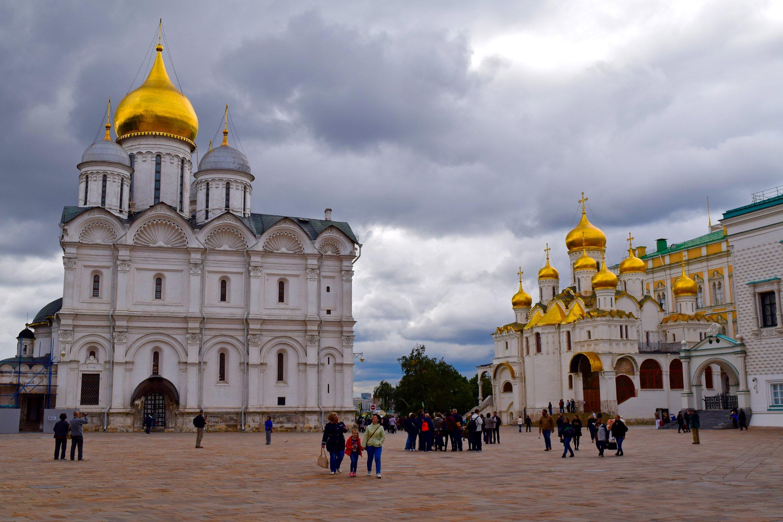 Cathedral Square, Kremlin