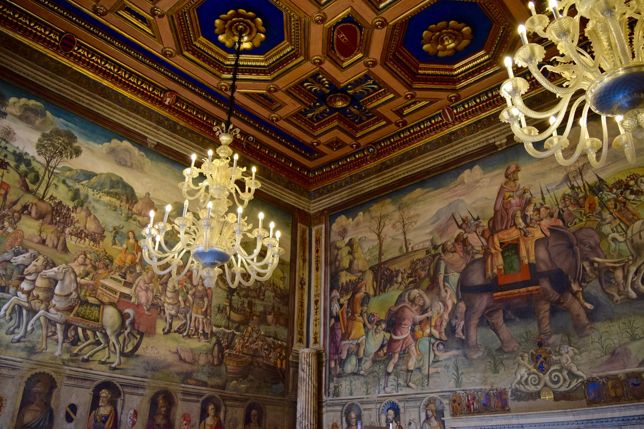 Hall of Hannibal, Capitoline Museums