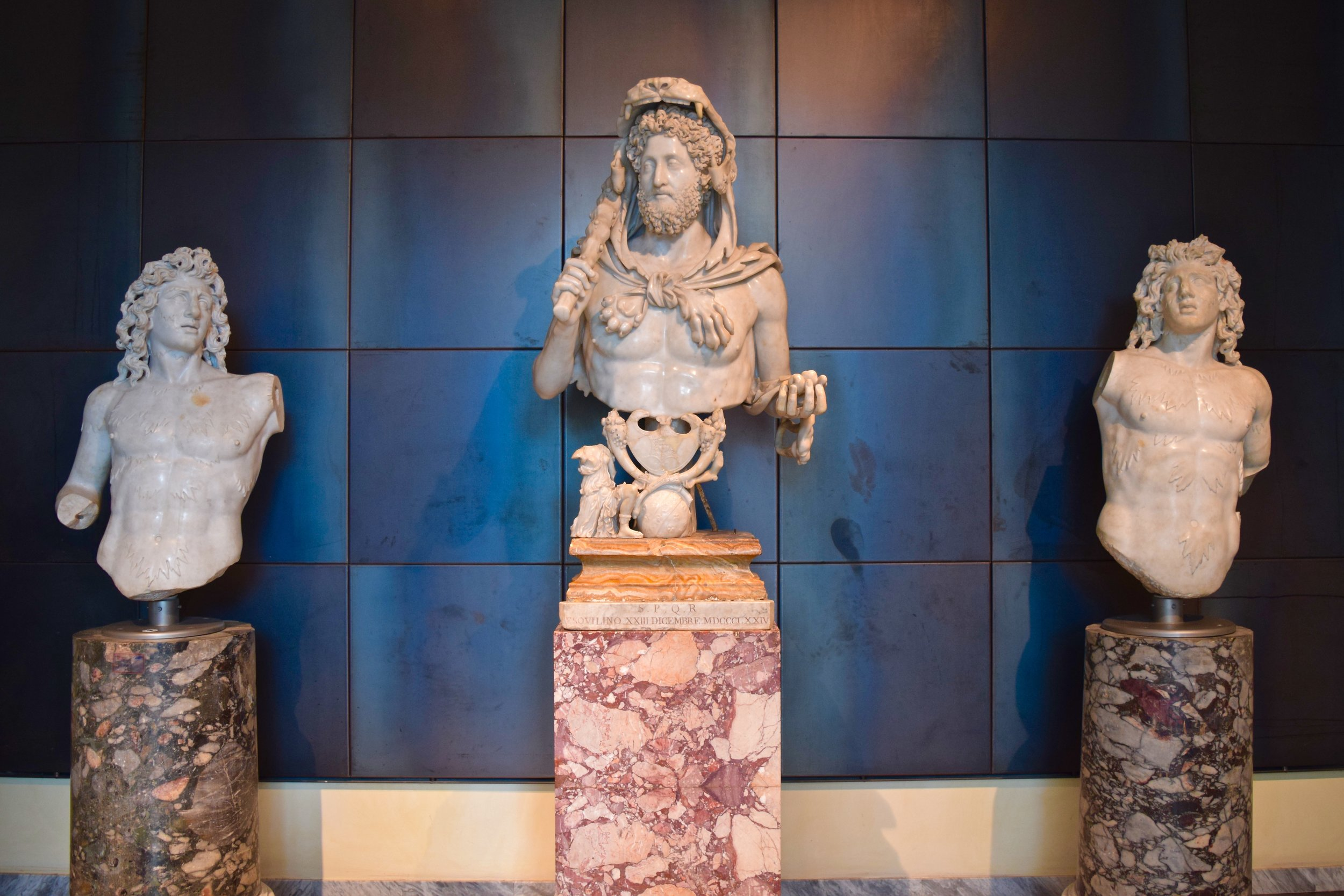 Bust of Commodus as Hercules, Capitoline Museums
