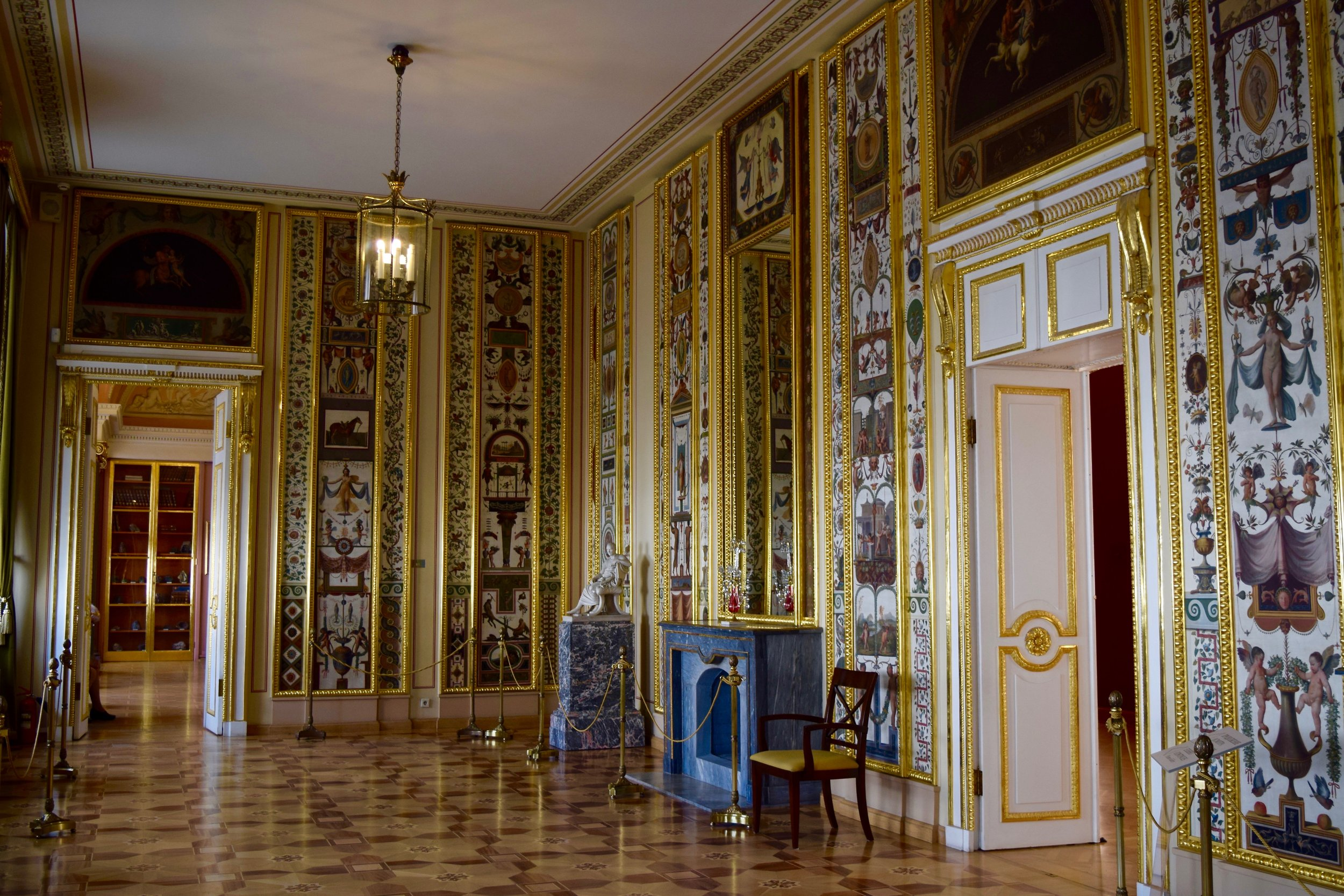 Interior of the Stroganov Palace
