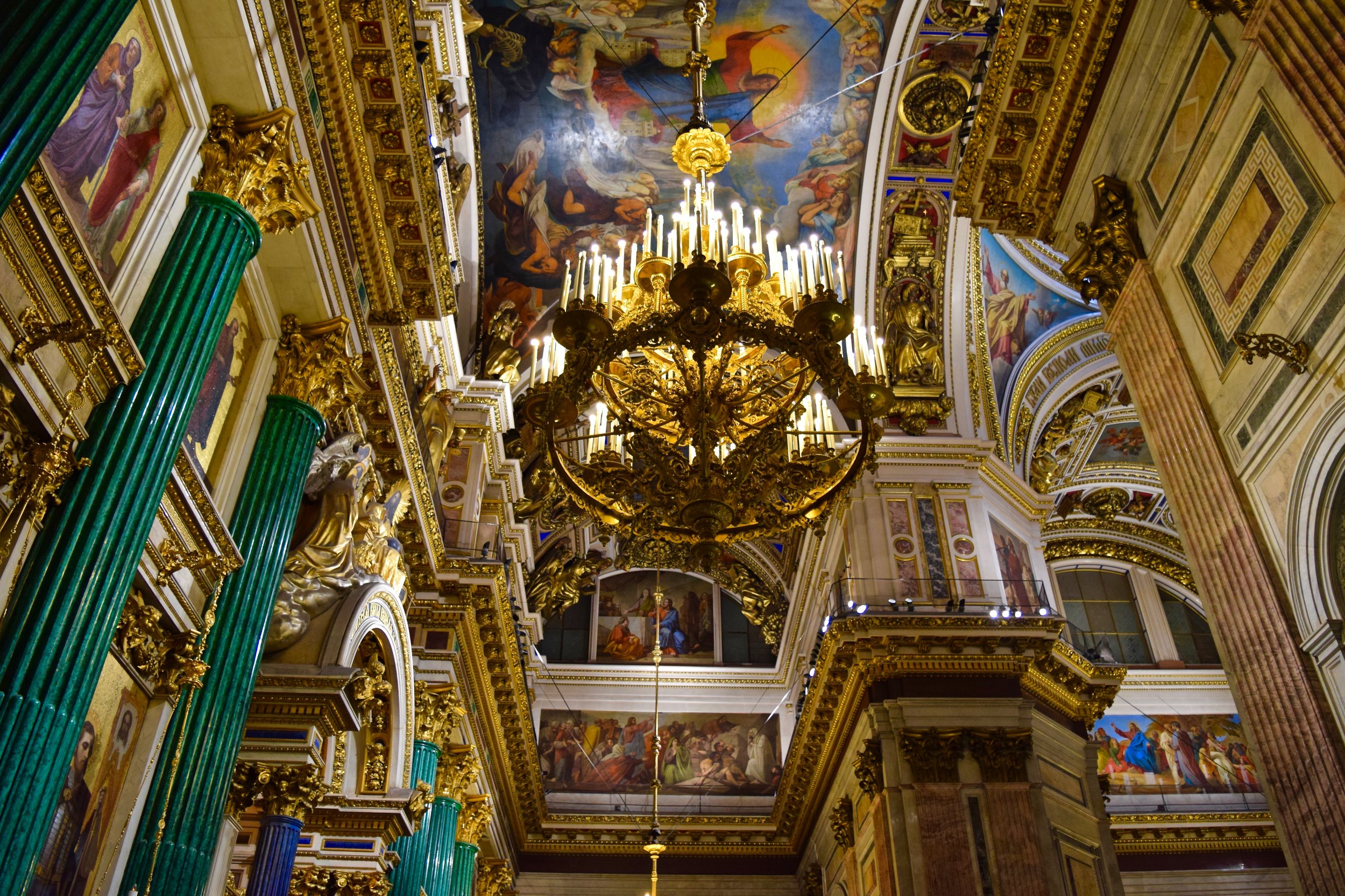 St. Isaac's Cathedral, interior