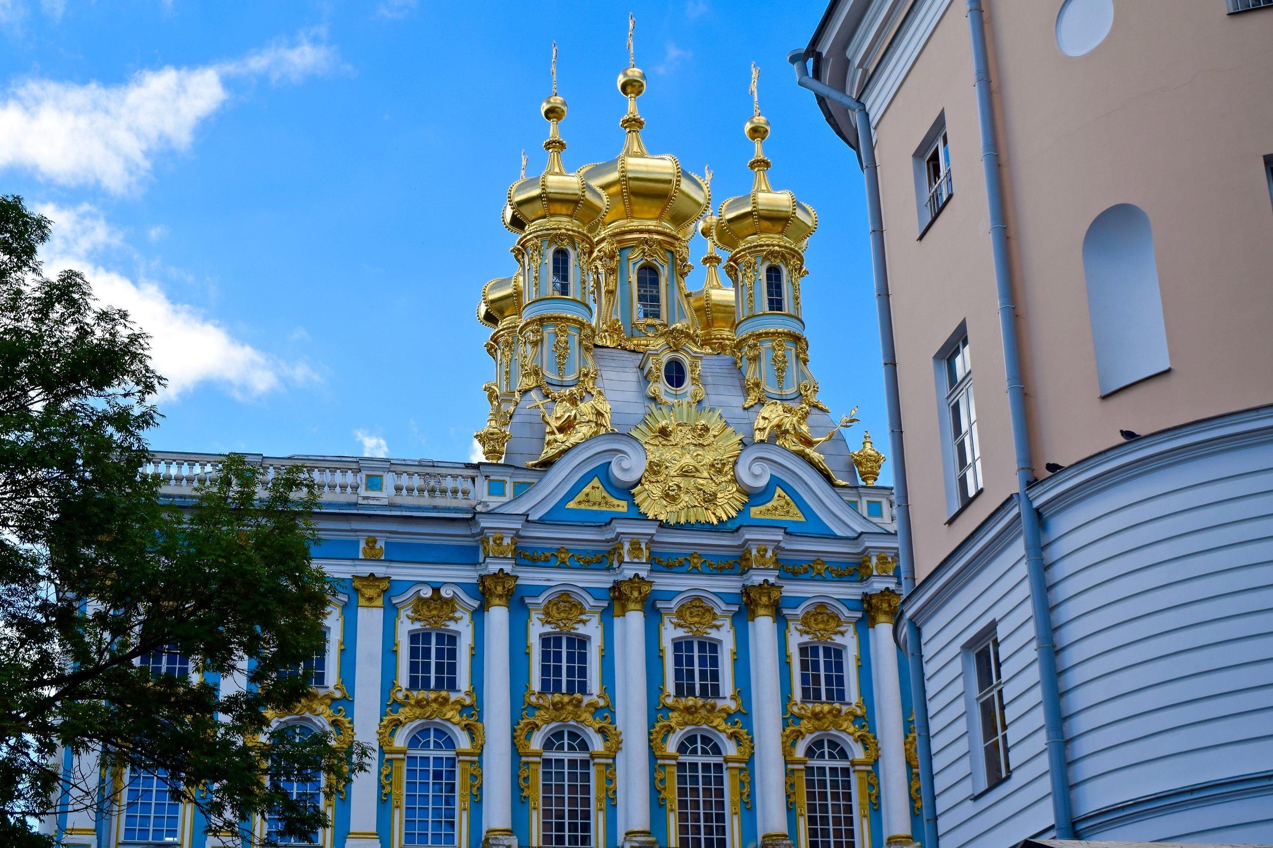 Entrance to Catherine Palace
