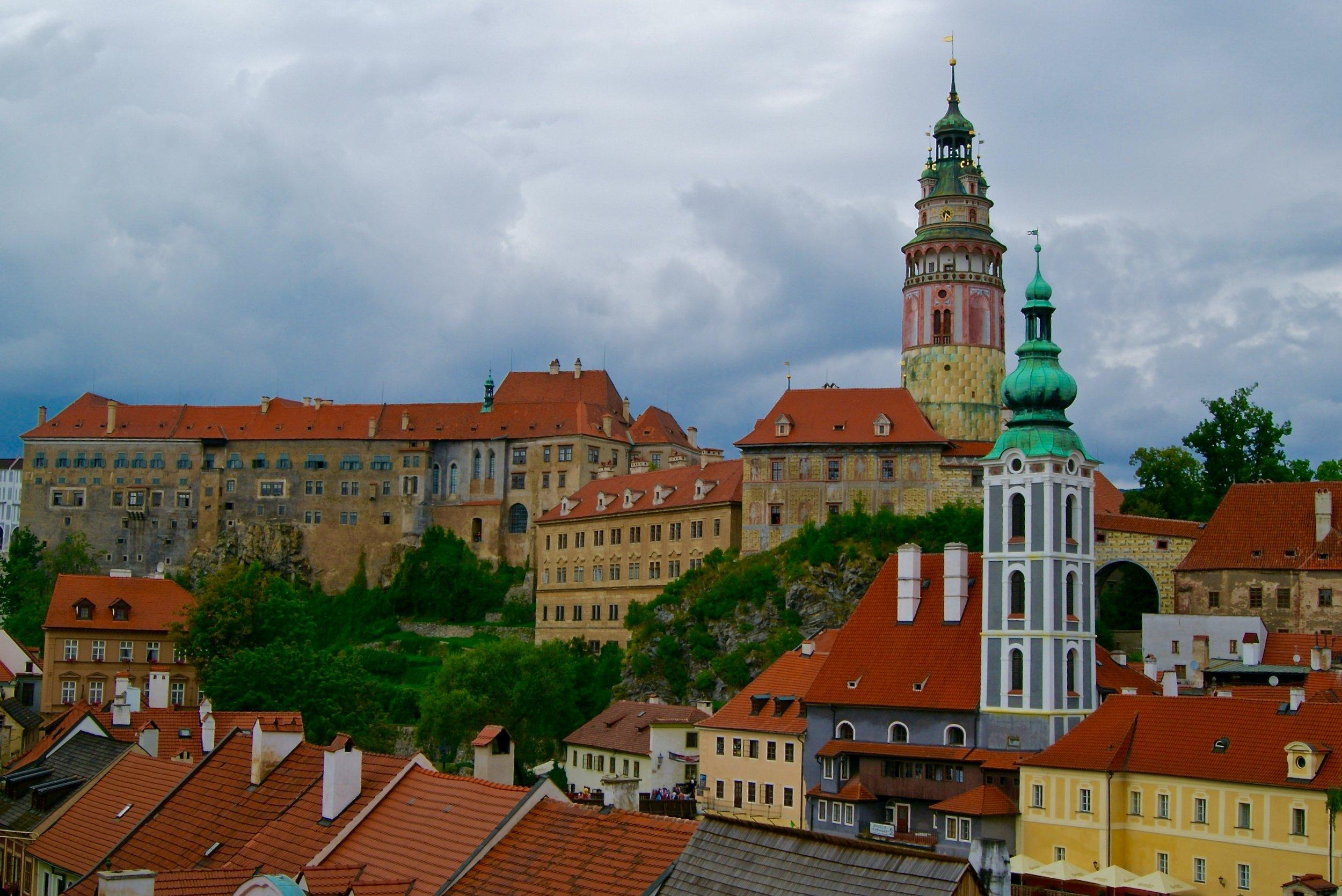View of Český Krumlov Castle