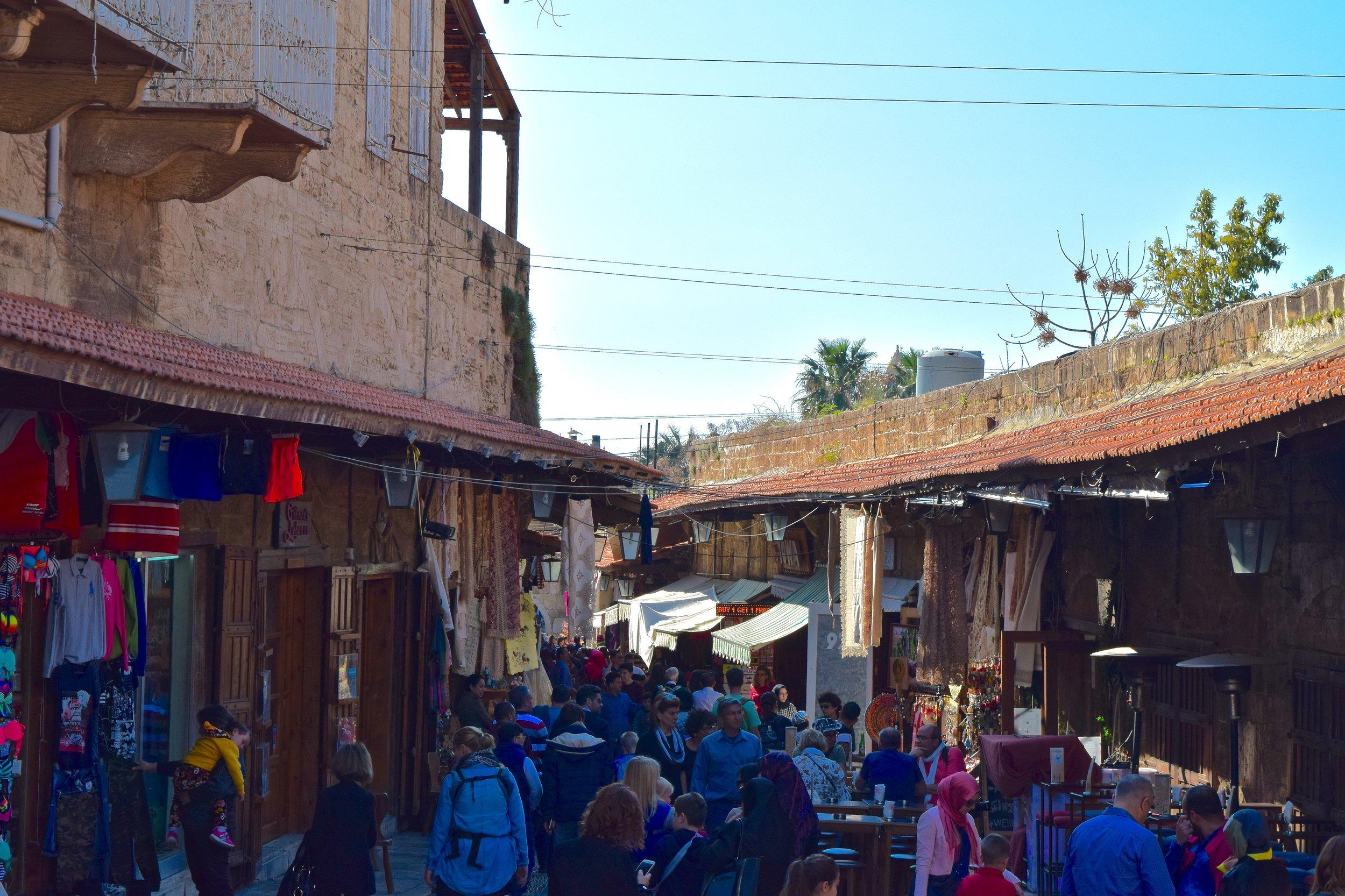 Main street of the souk