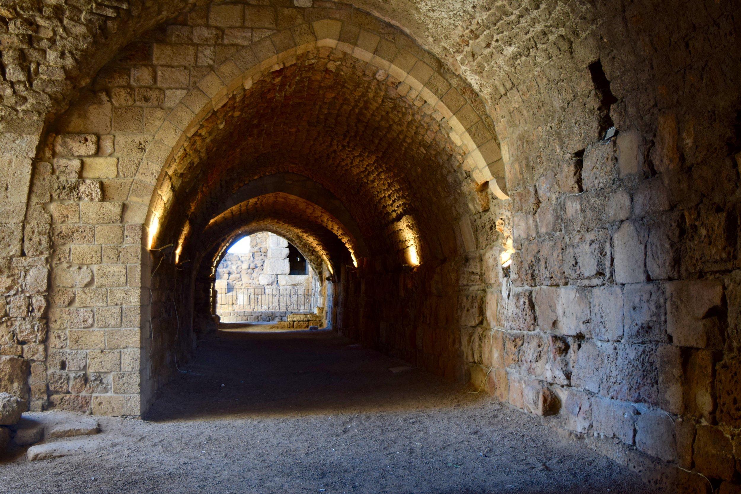 Parte inferior del castillo