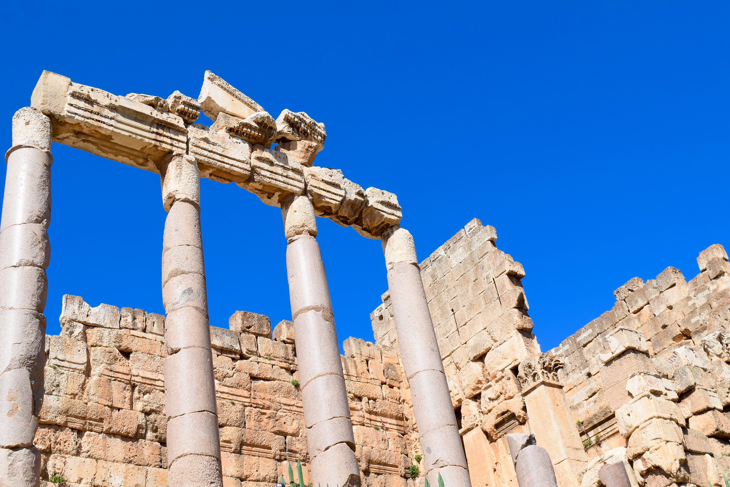 Propylaea, Baalbek