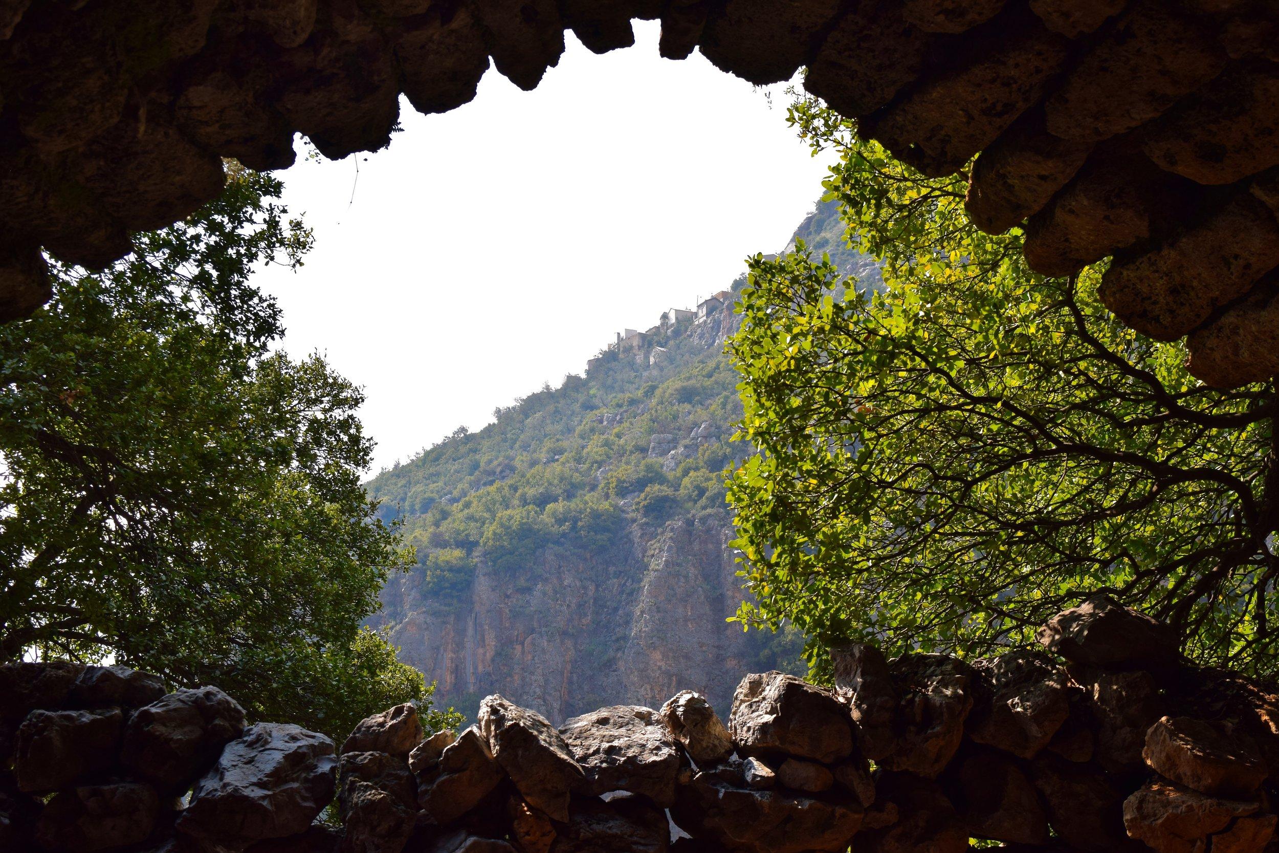 Views of Qadisha Valley from Mar Sarkis Church