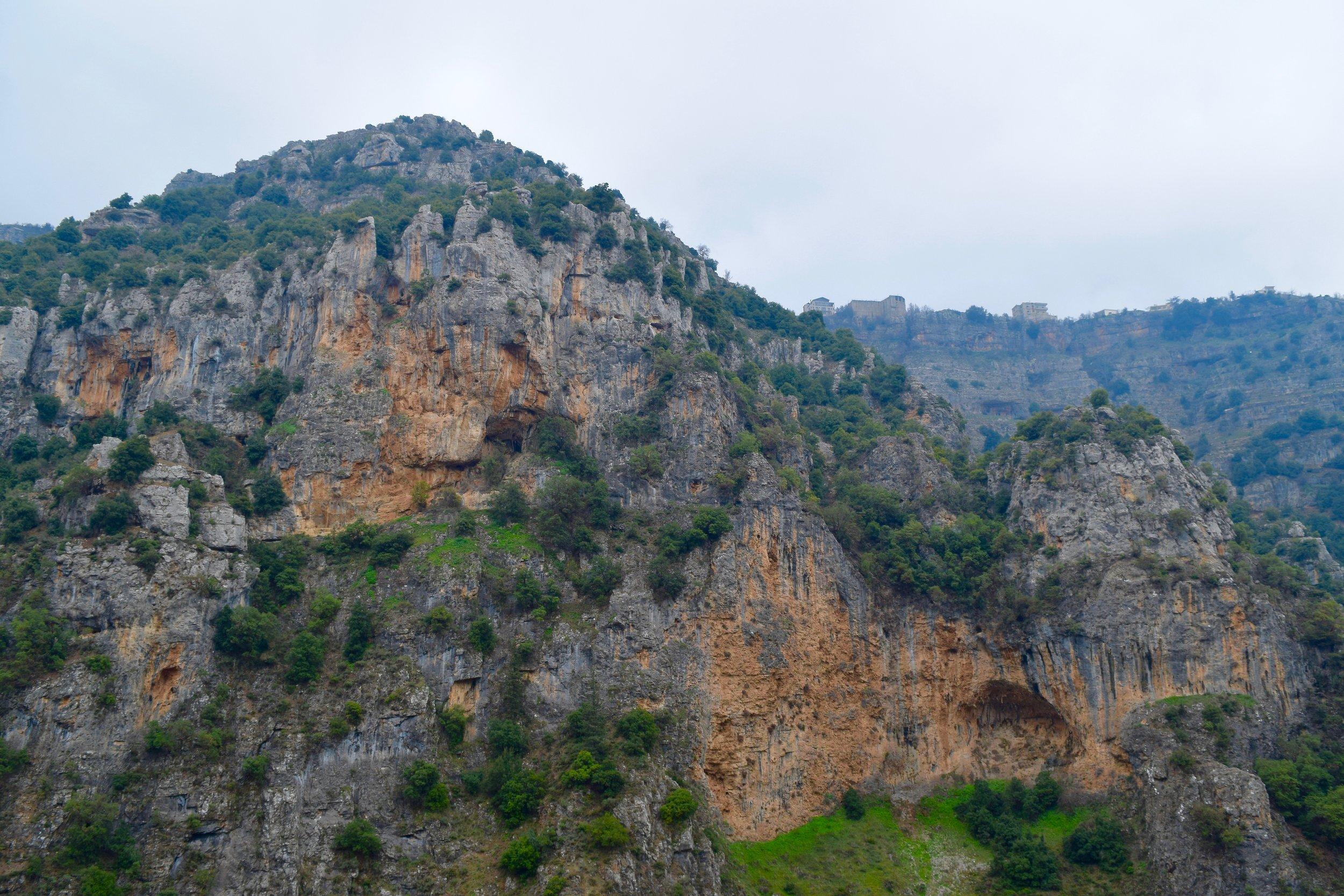 Vistas del Valle del Qadisha