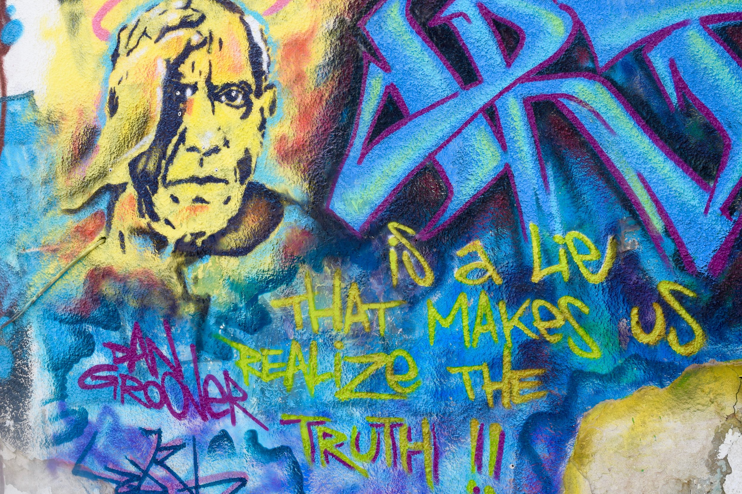 'Art is a lie that makes us realize the truth'