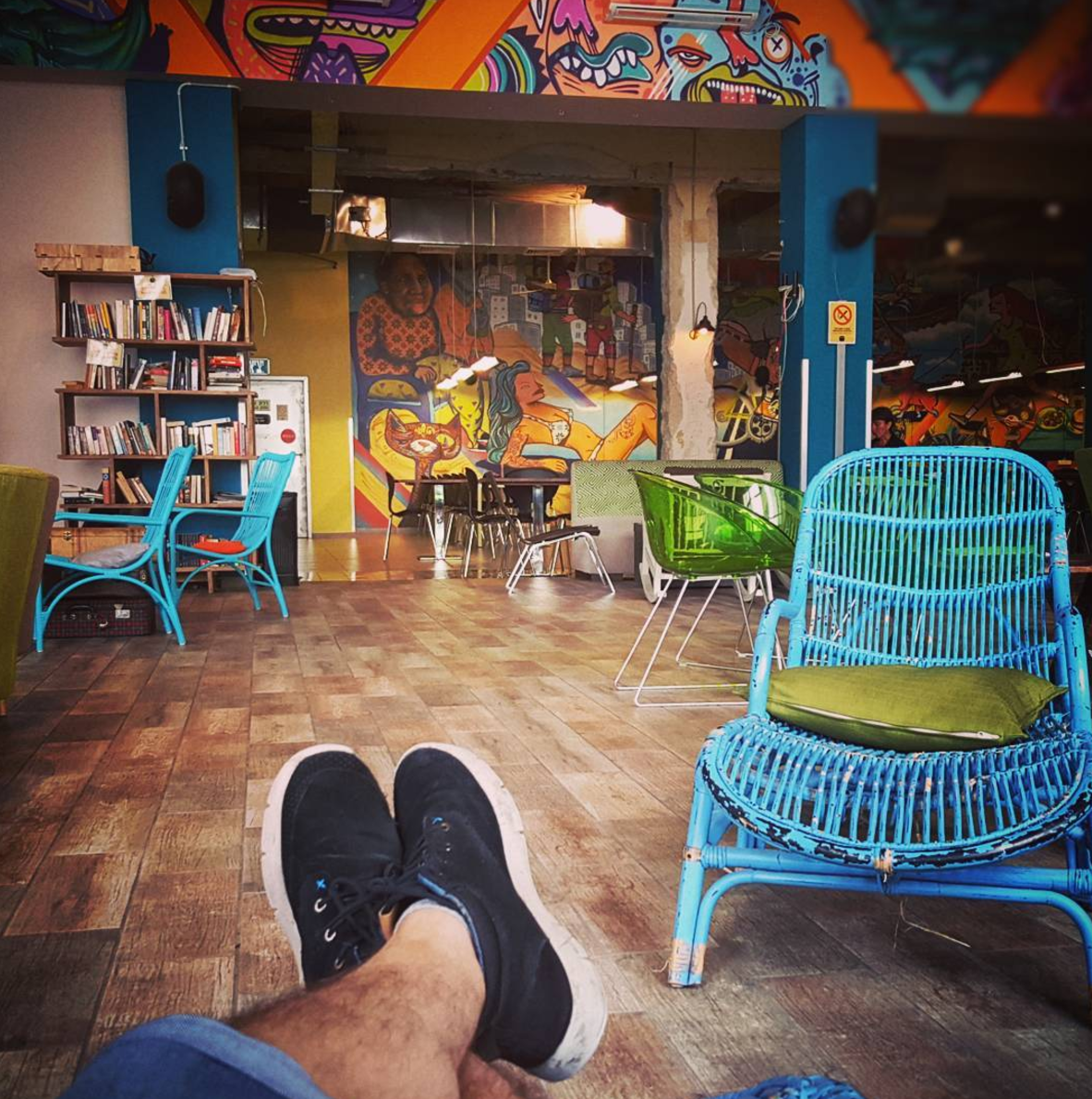 Sleep in Tel Aviv - If you're looking for the perfect accommodation in Tel Aviv, that has to be the Abraham Hostel.The vibe of Abraham Hostel is definitely one of the best you will find in Israel, and I'd dare to say in the world. Offering both dorms and private beds, all including en-suite bathrooms and an incredible breakfast, my experience in Israel wouldn't have been the same if I hadn't stayed at the Abraham Hostel.They also offer daily tours and activities in the bar and rooftop, which is just perfect for the solo traveller as well as bigger groups. In this hostel I found a bit of everything: from young backpackers in their 20s to more experienced travellers, Abraham Hostel in Tel Aviv had something for everyone.I chose this chain of hostels for my entire stay in Israel and also took multiple tours with them, and it was the best choice that I could've made.