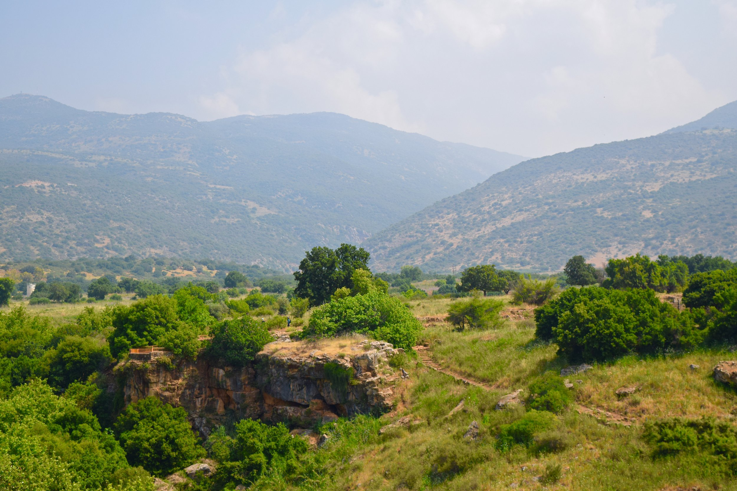 Views from the Banias Natural Reserve
