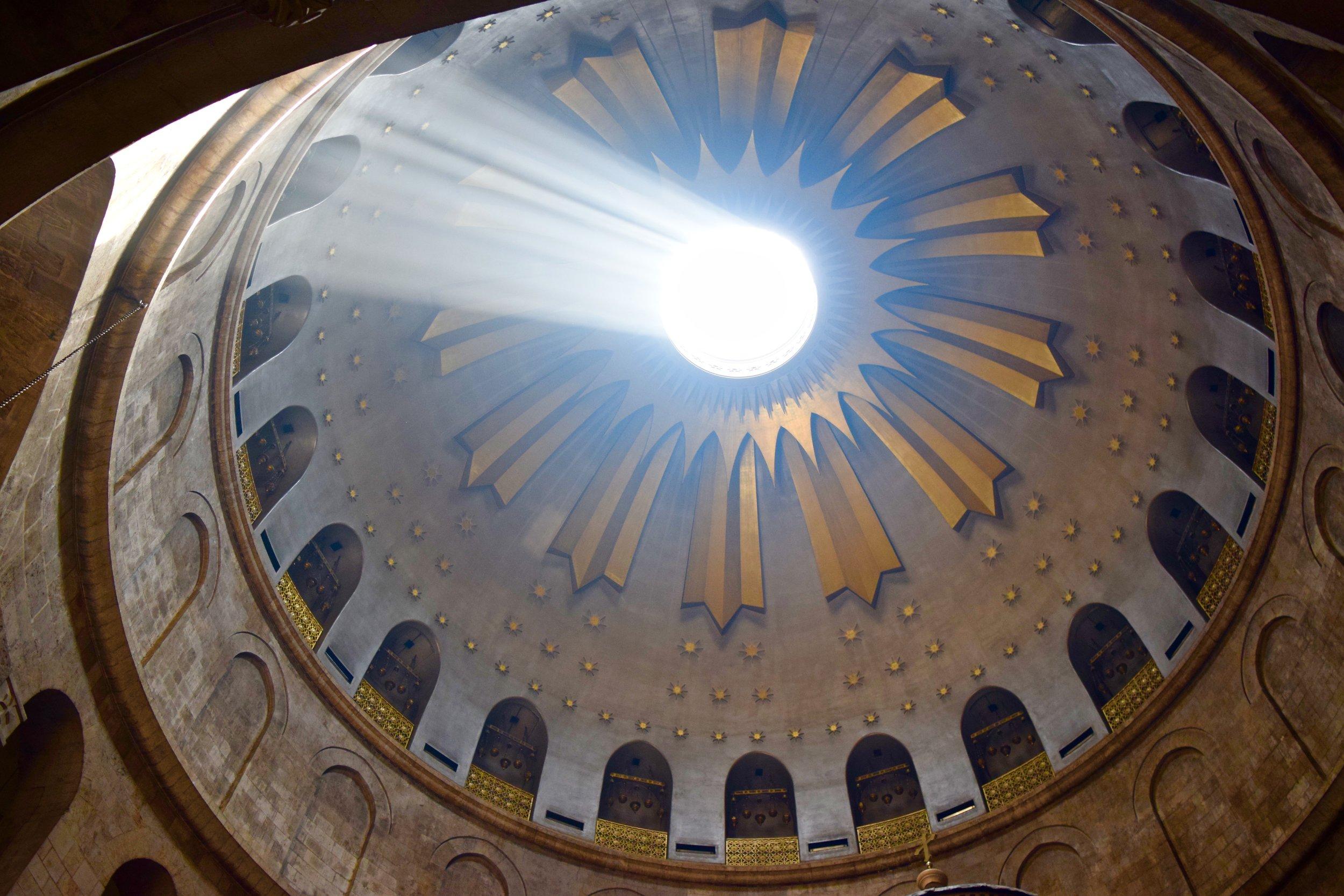 Cúpula de la Iglesia  del  Santo Sepulcro