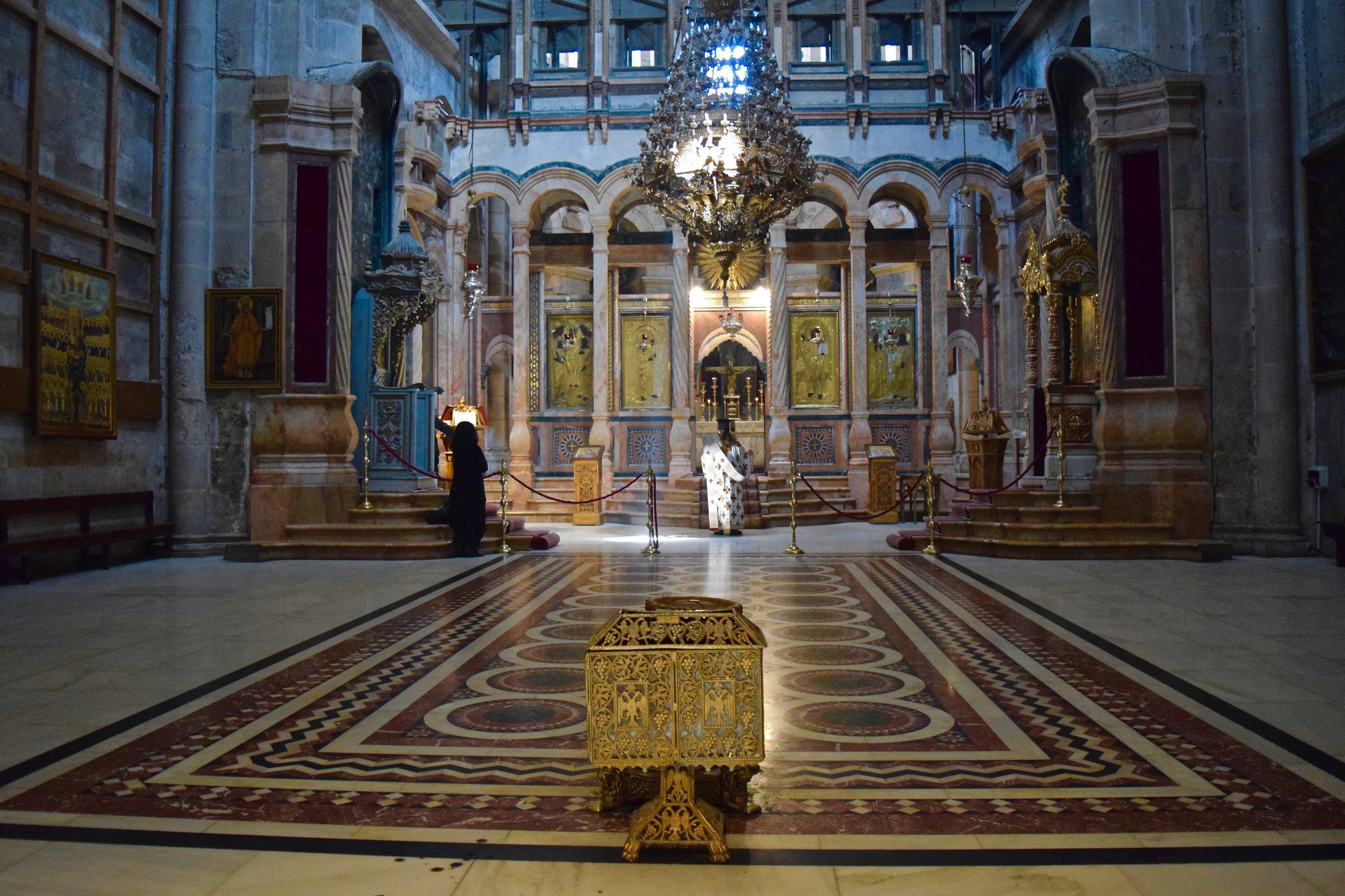 Katholikón de la iglesia
