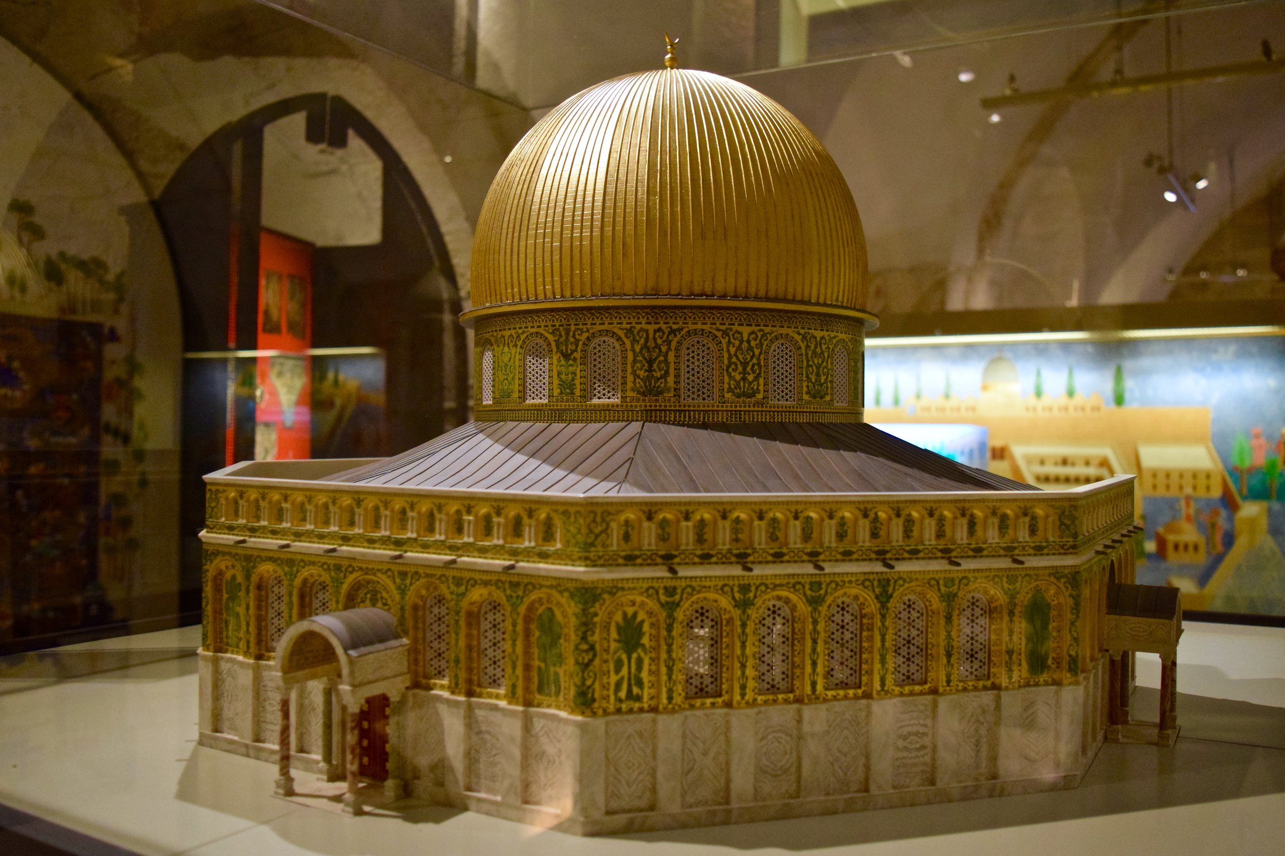 Mockup of the Dome of the Rock