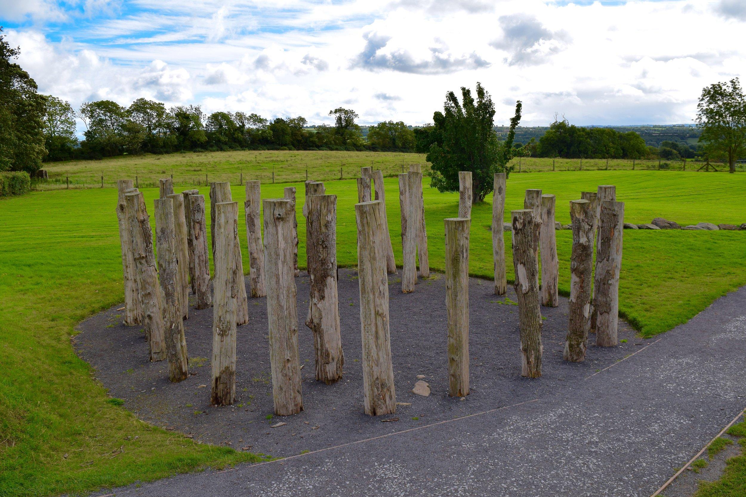 Círculo de madera o  Woodhenge
