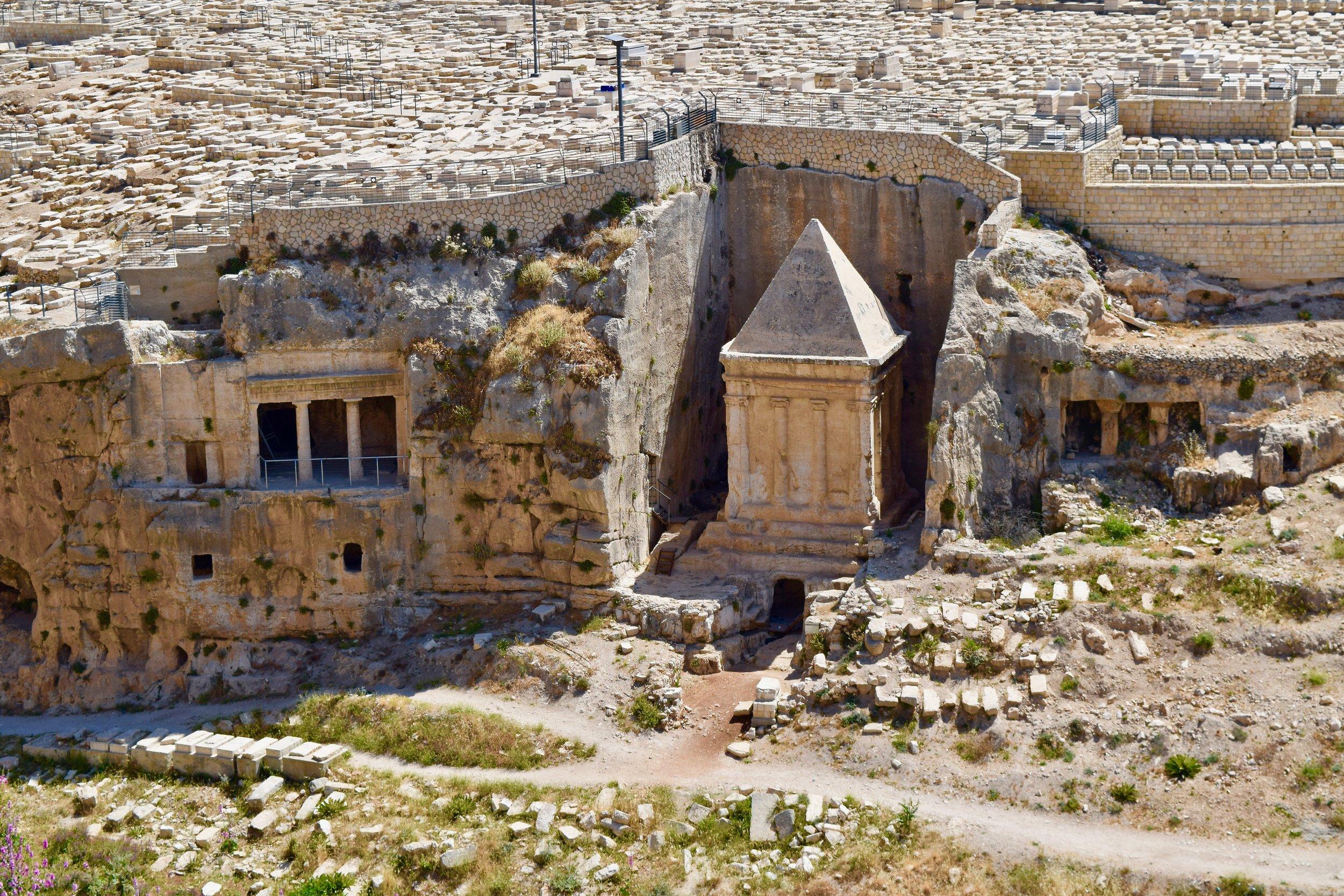 Tombs of Benei Hezir and Zechariah