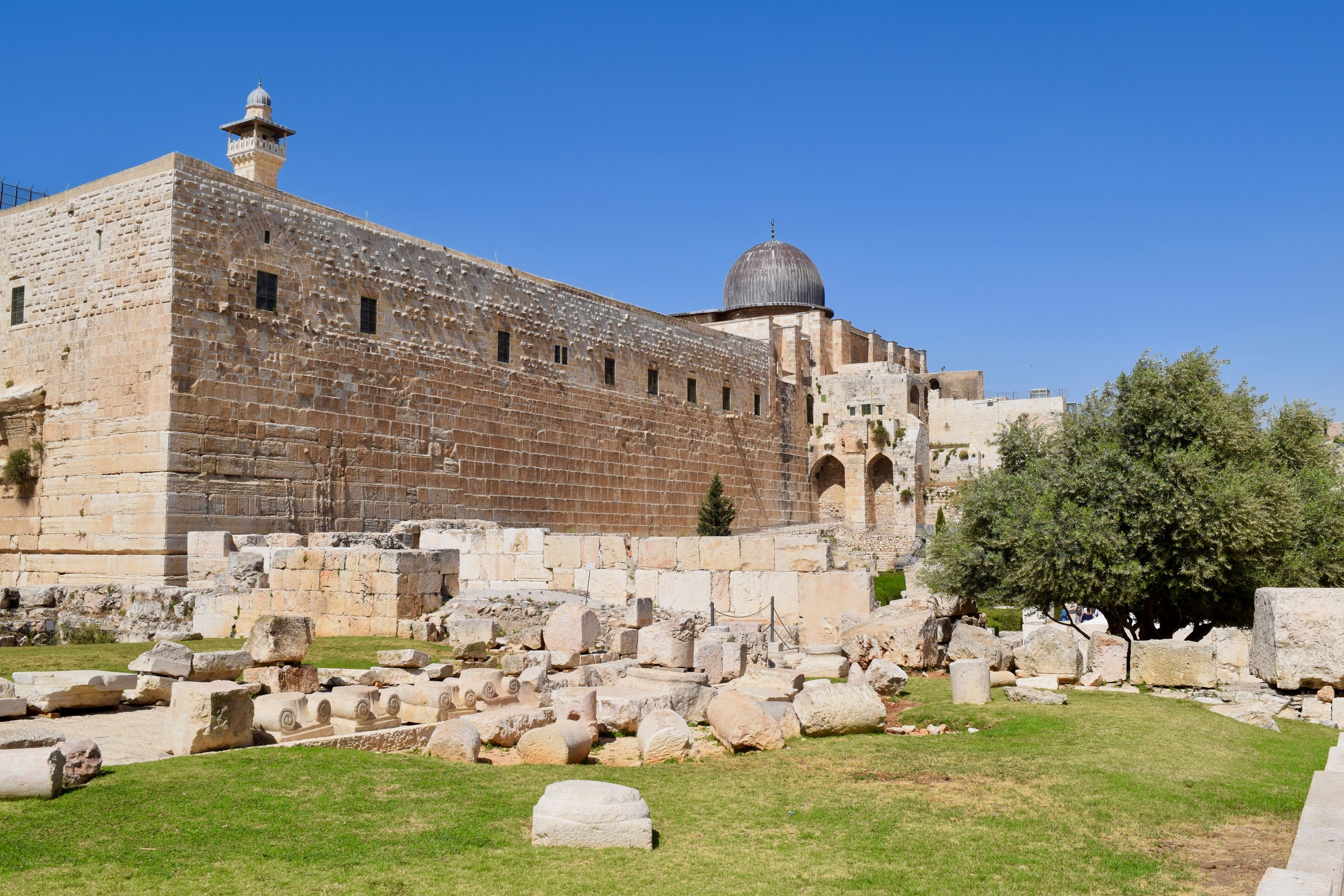 View of Al-Aqsa Mosque from the City of David