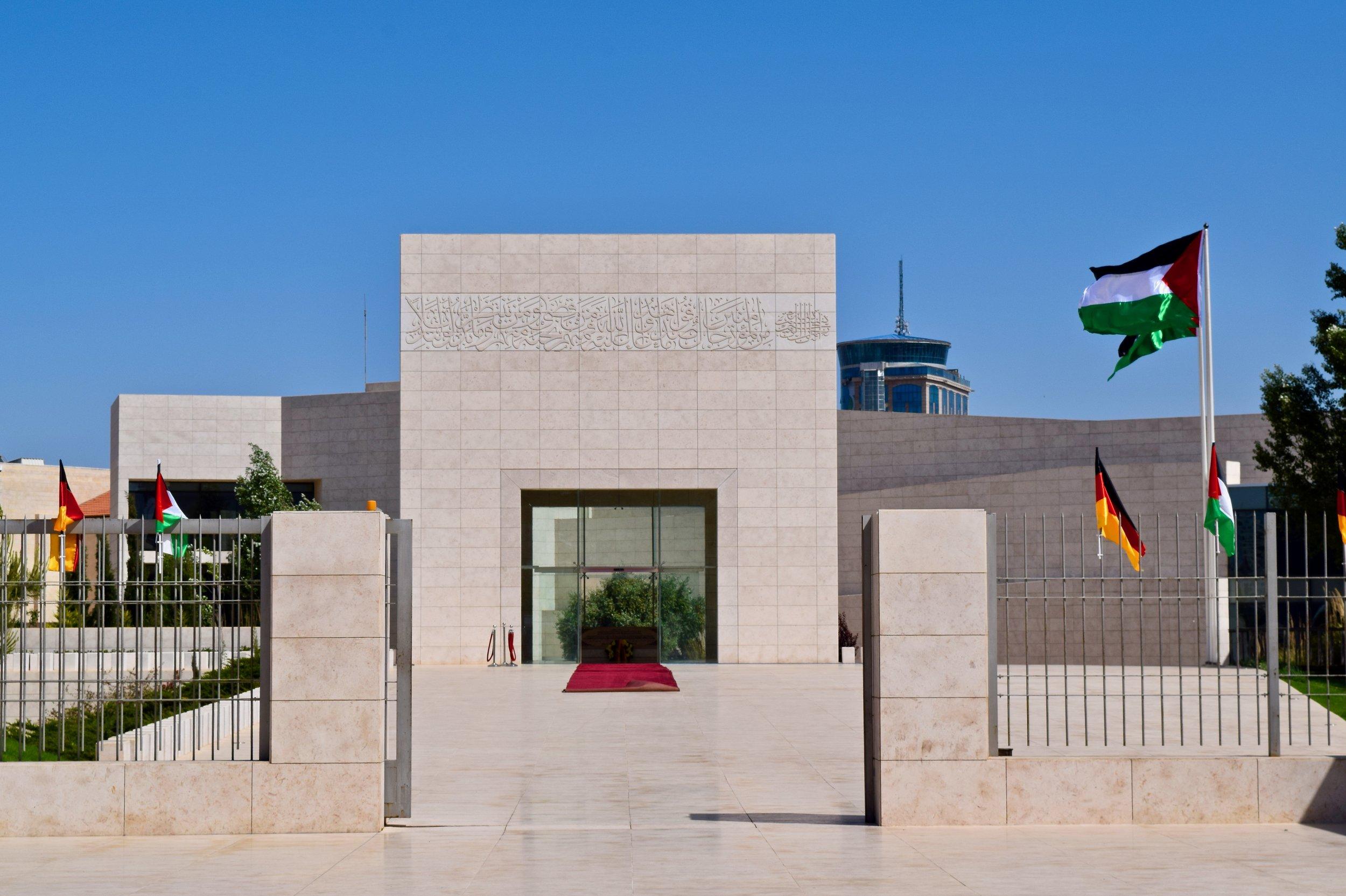 Tumba de Yasser Arafat