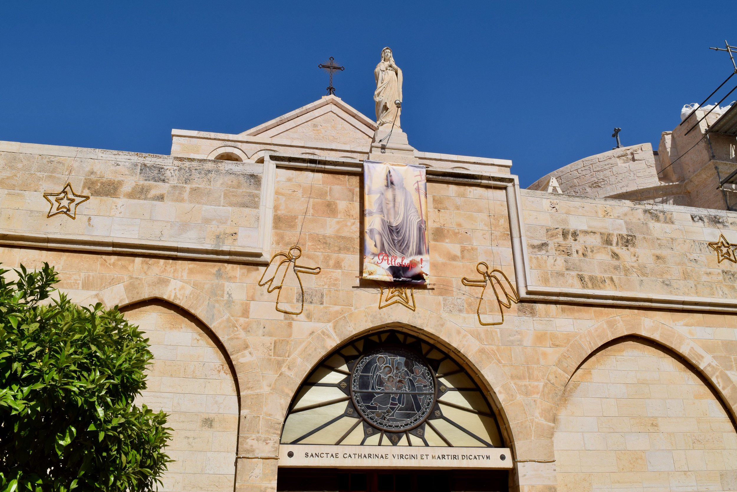 Fachada de la Iglesia de la Natividad
