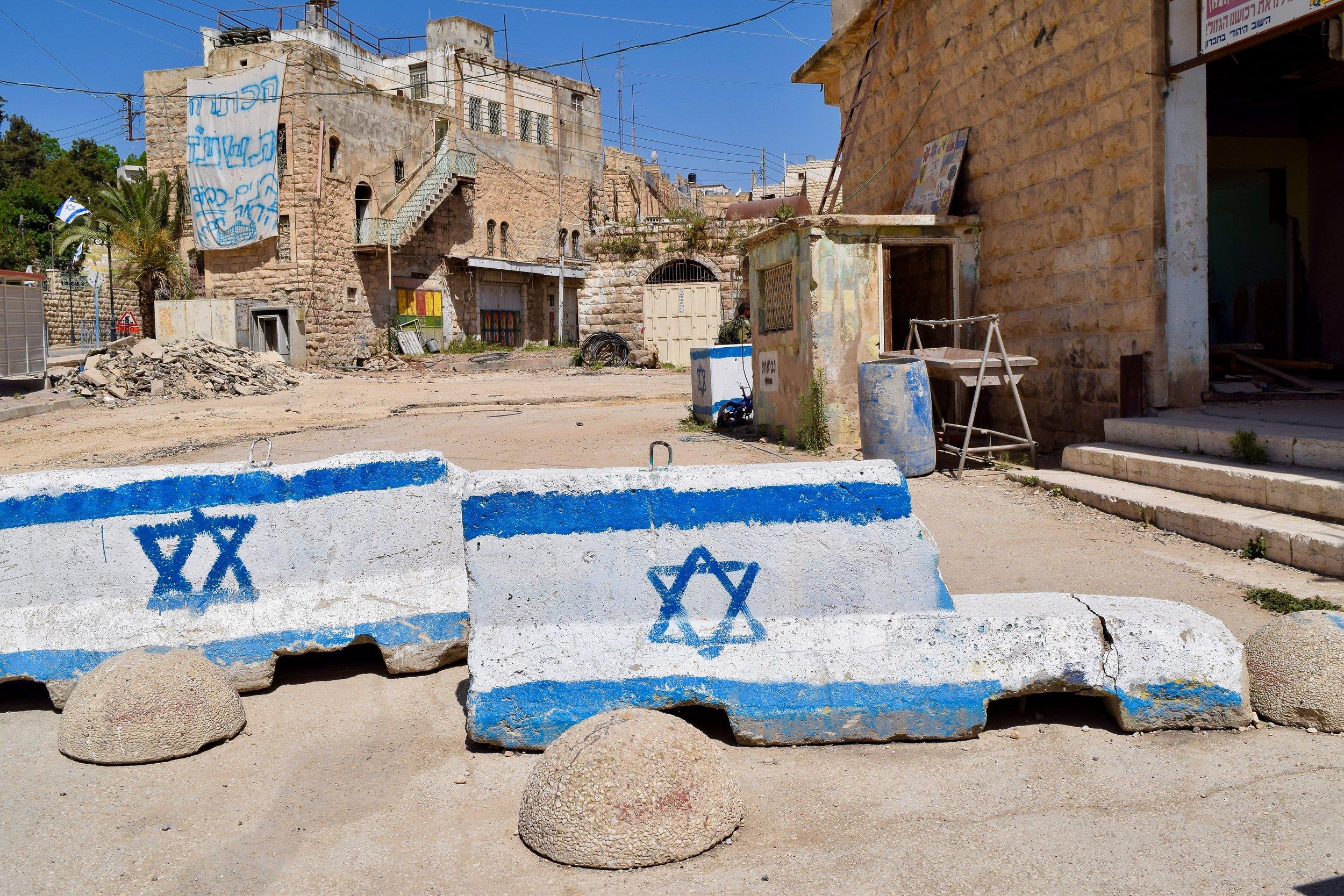 Israeli barriers, Hebron