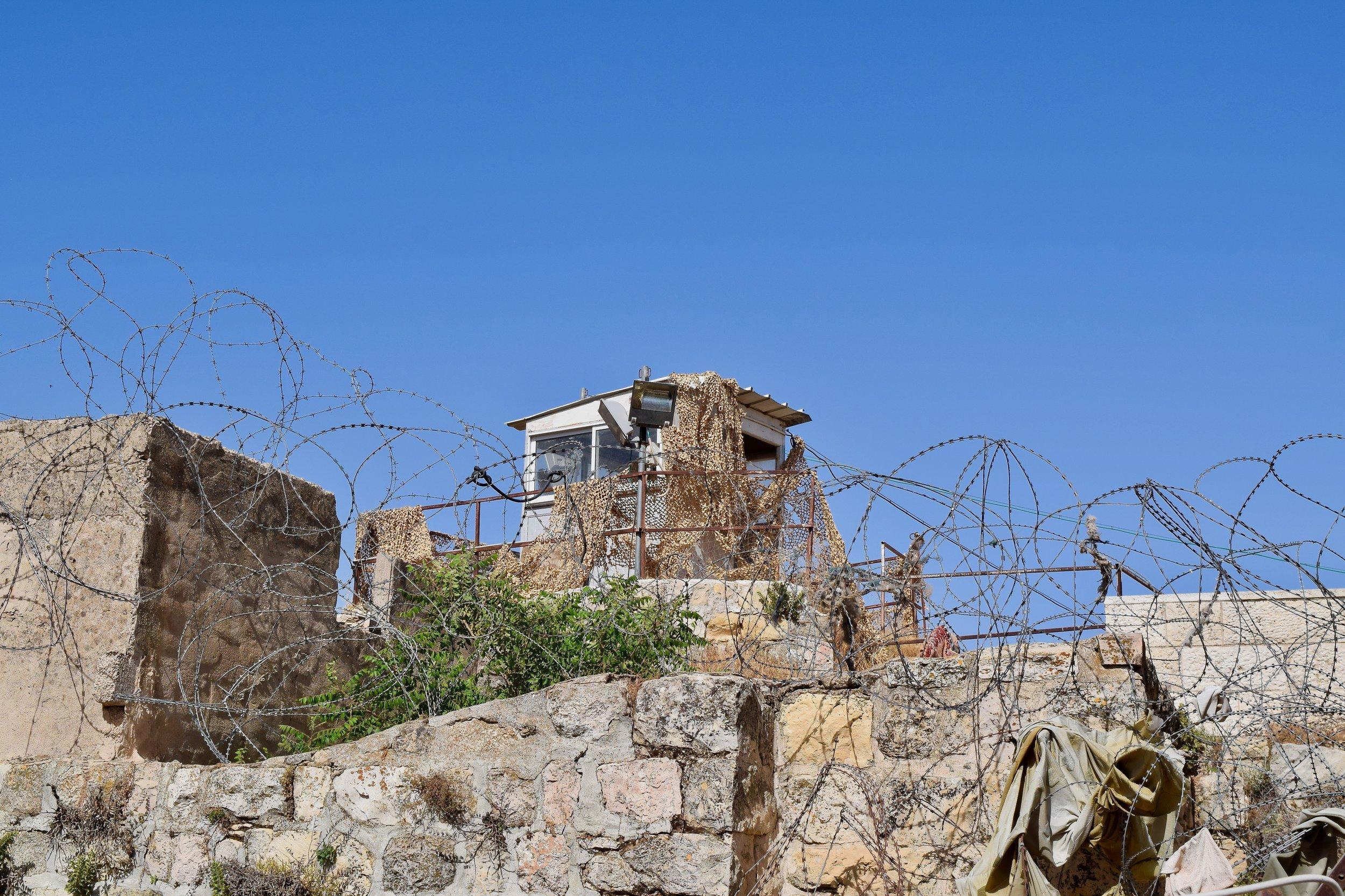 Israeli watchtower, Hebron