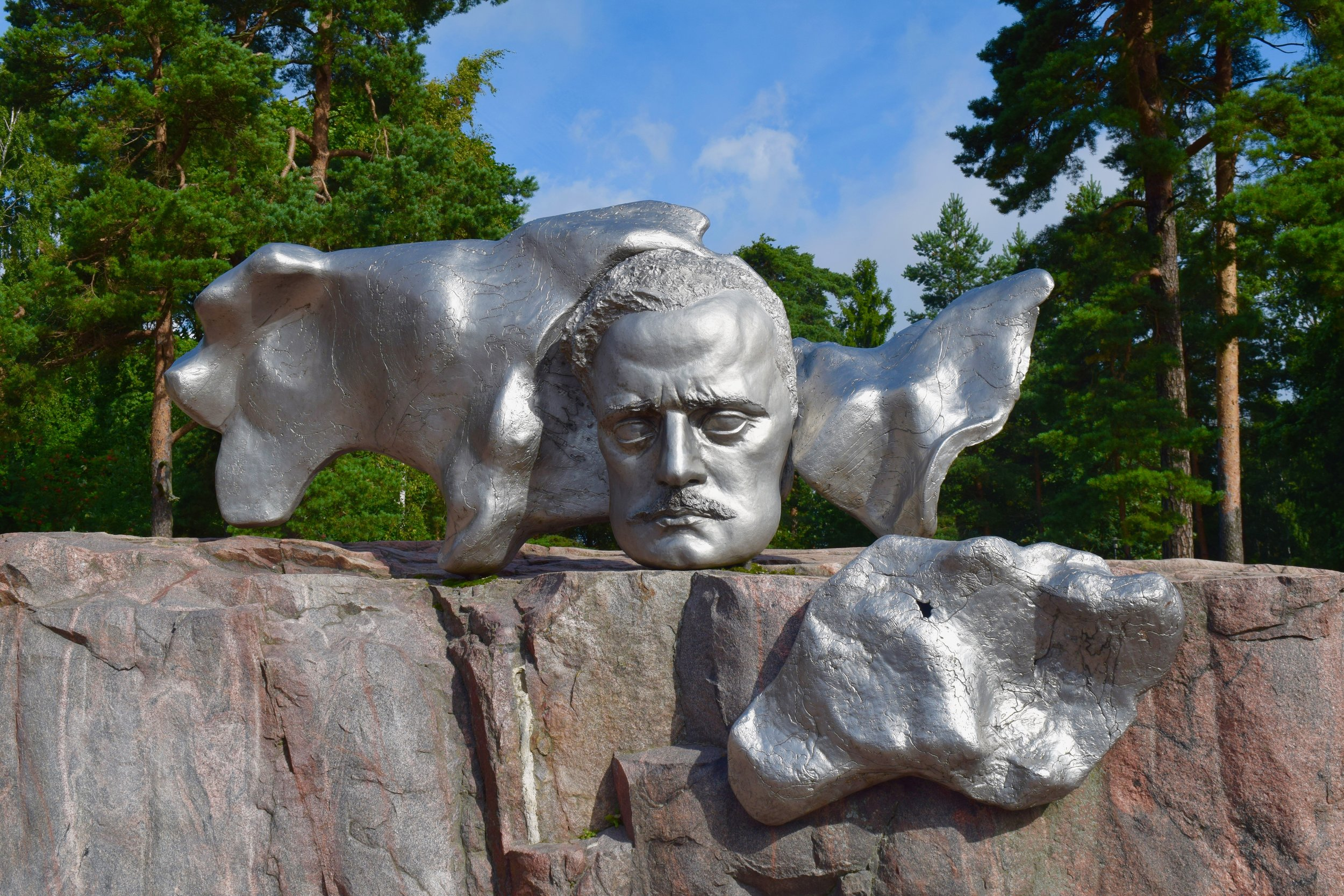 Estatua de Jean Sibelius